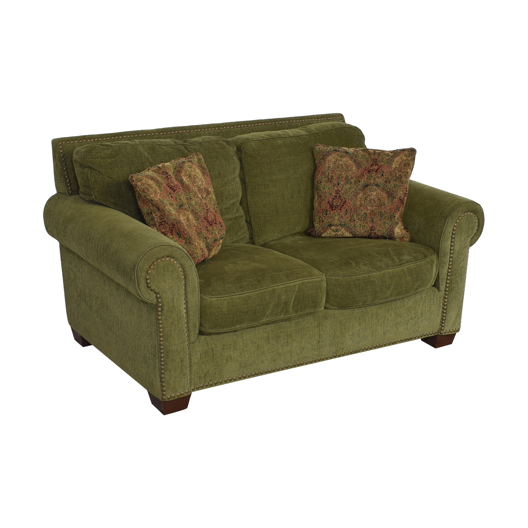 Robinson & Robinson Nailhead Trim Loveseat sale