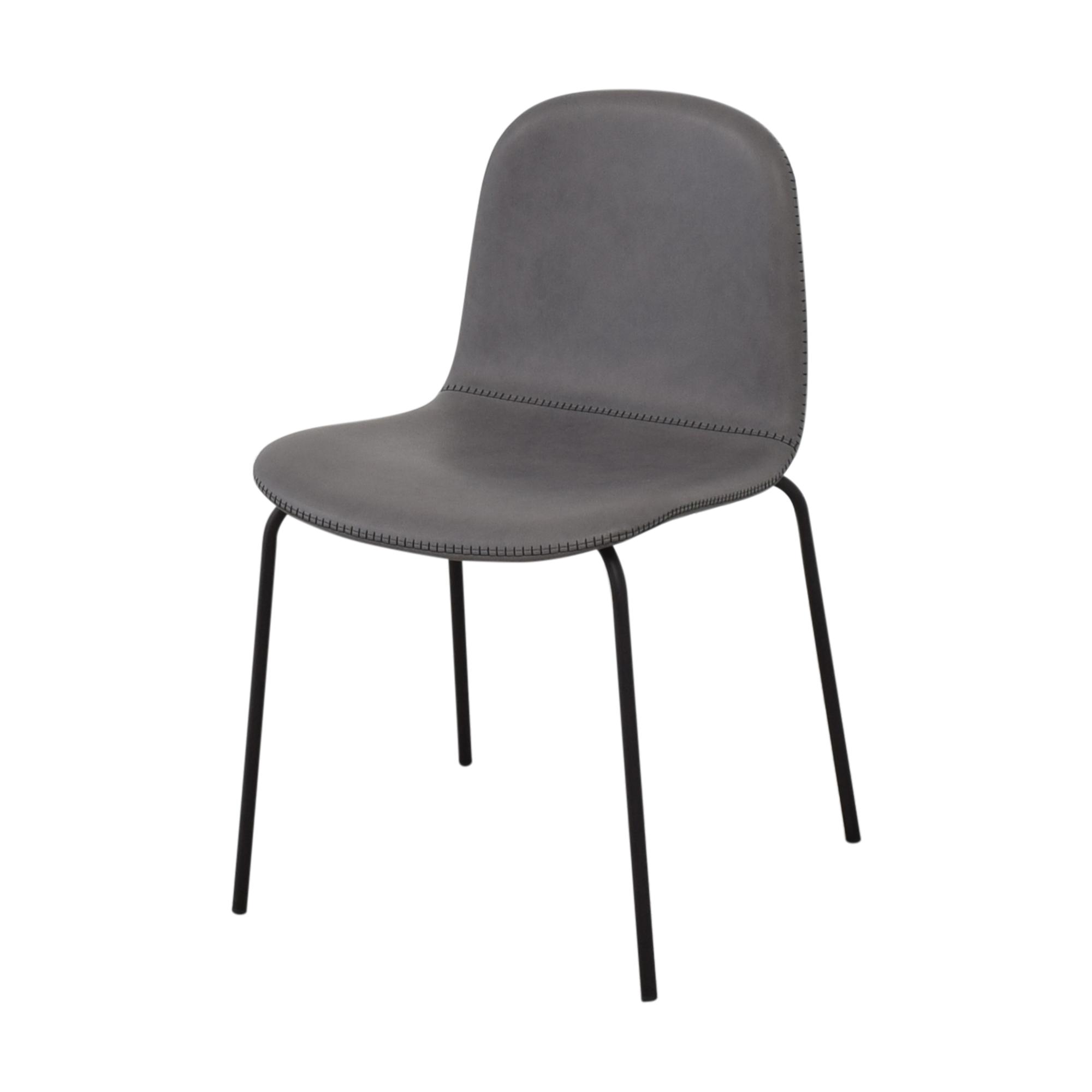 buy CB2 Primitivo Grey Chairs CB2 Chairs
