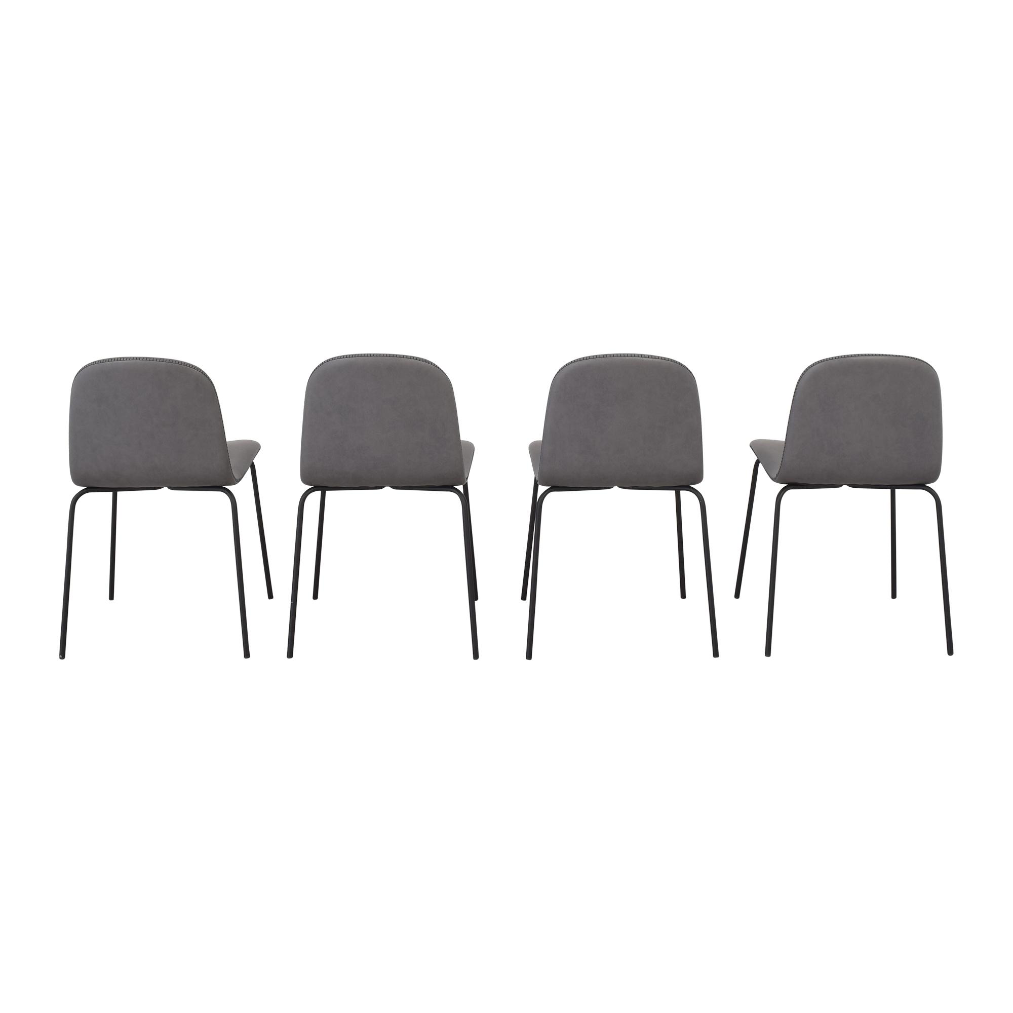 CB2 CB2 Primitivo Grey Chairs second hand