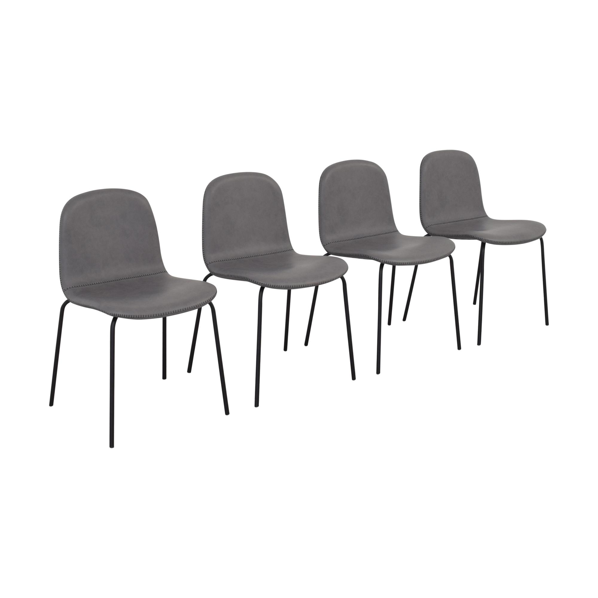 CB2 CB2 Primitivo Grey Chairs Chairs