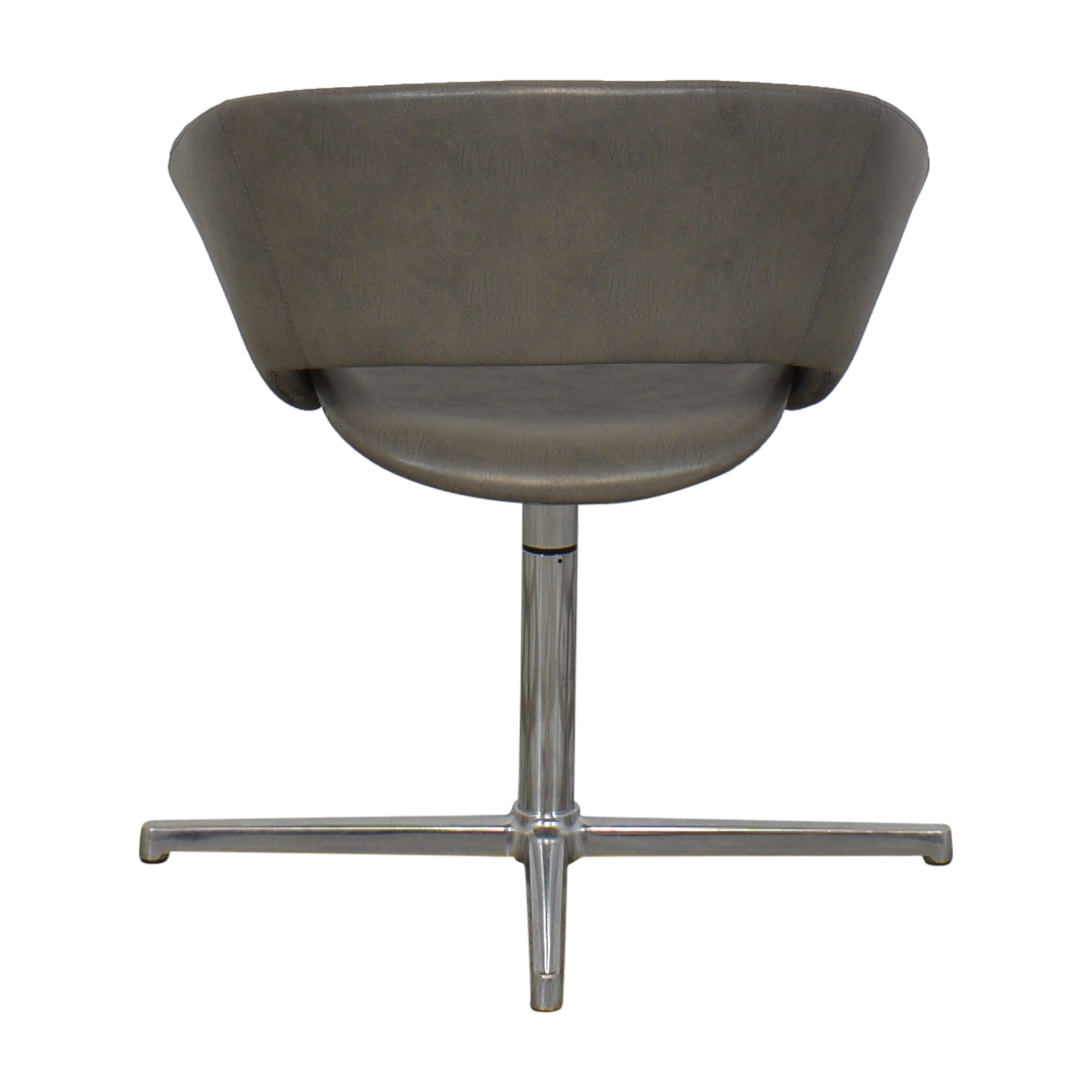 Leland International Leland Mod Pedestal Swivel Chair gray