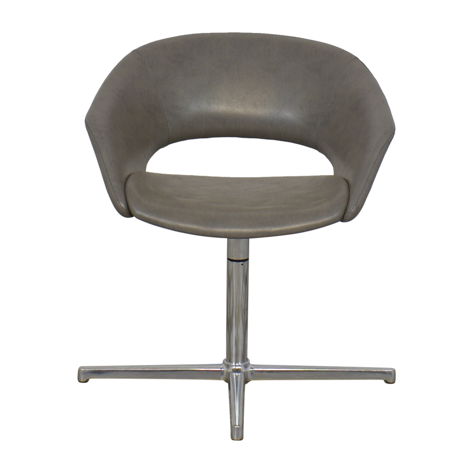 Leland International Leland Mod Pedestal Swivel Chair nj