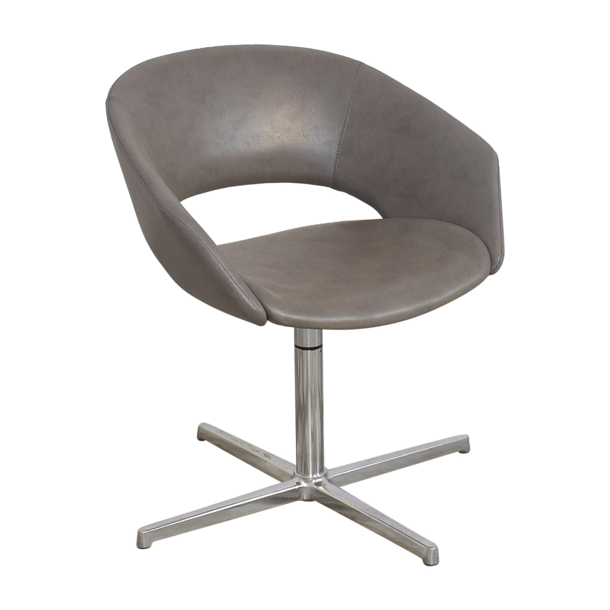 Leland Mod Pedestal Swivel Chair / Accent Chairs