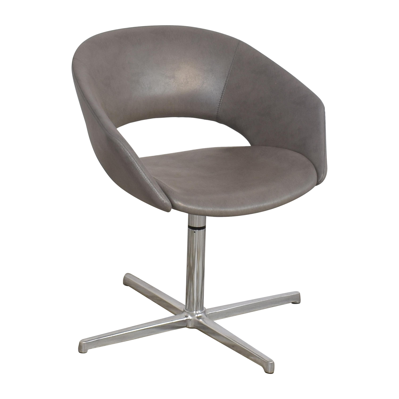 Leland International Leland Mod Pedestal Swivel Chair discount