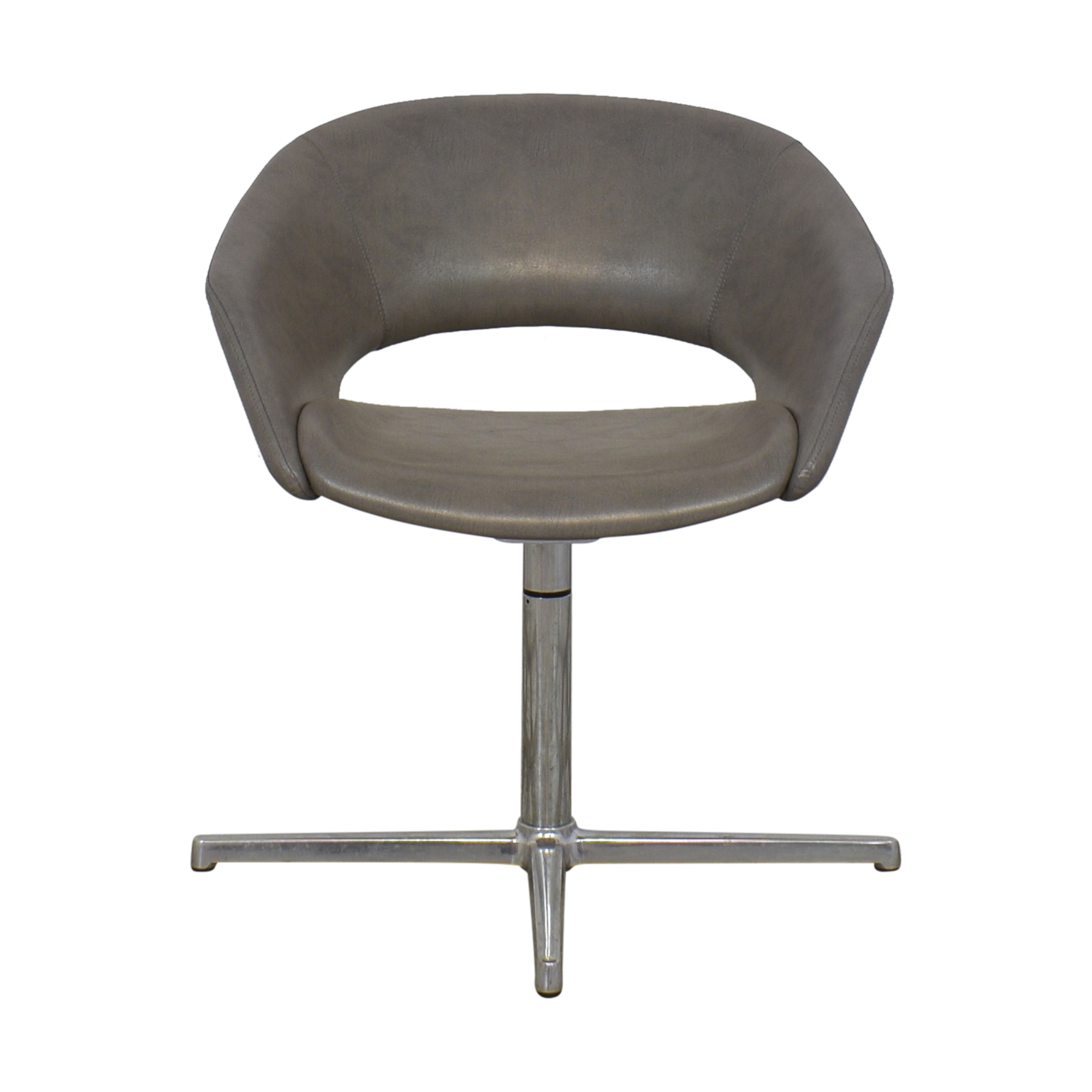 Leland Mod Pedestal Swivel Chair Leland International