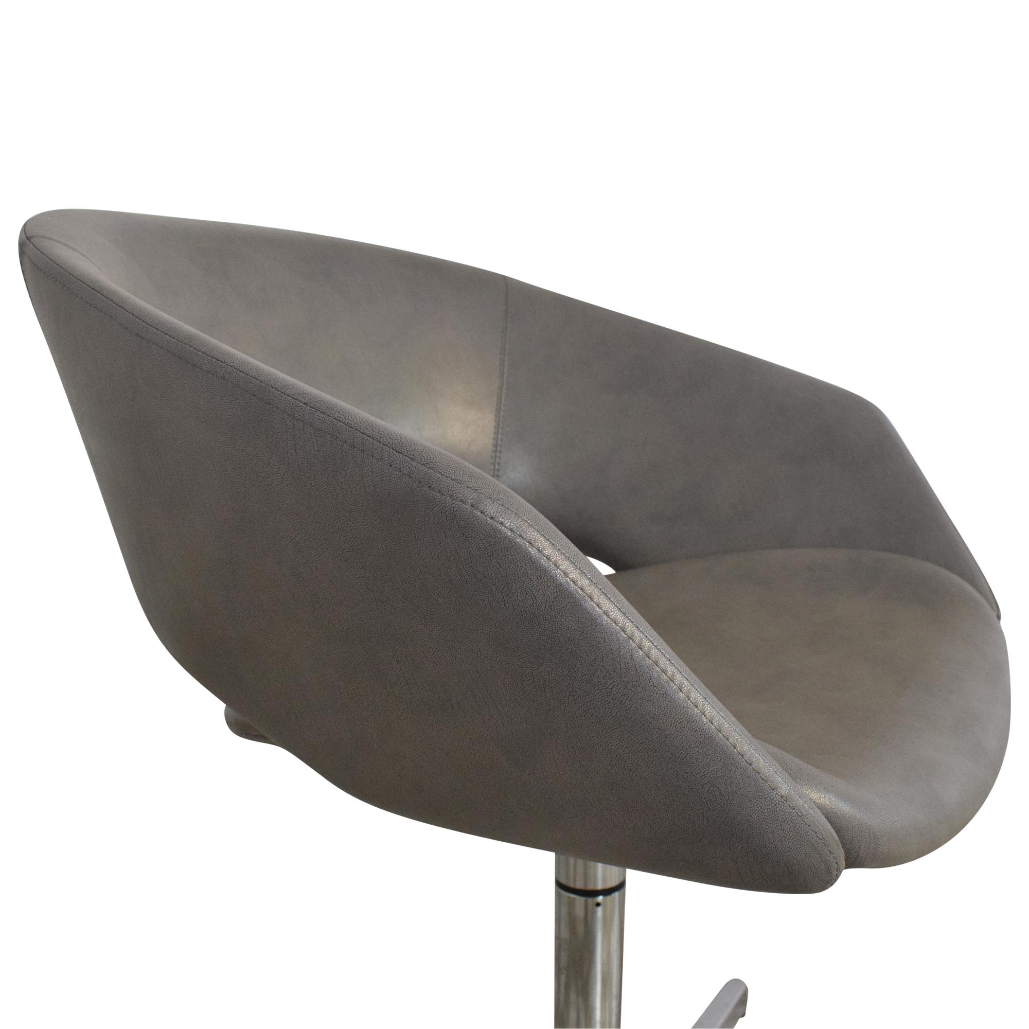 Leland International Leland Mod Pedestal Swivel Chair ct