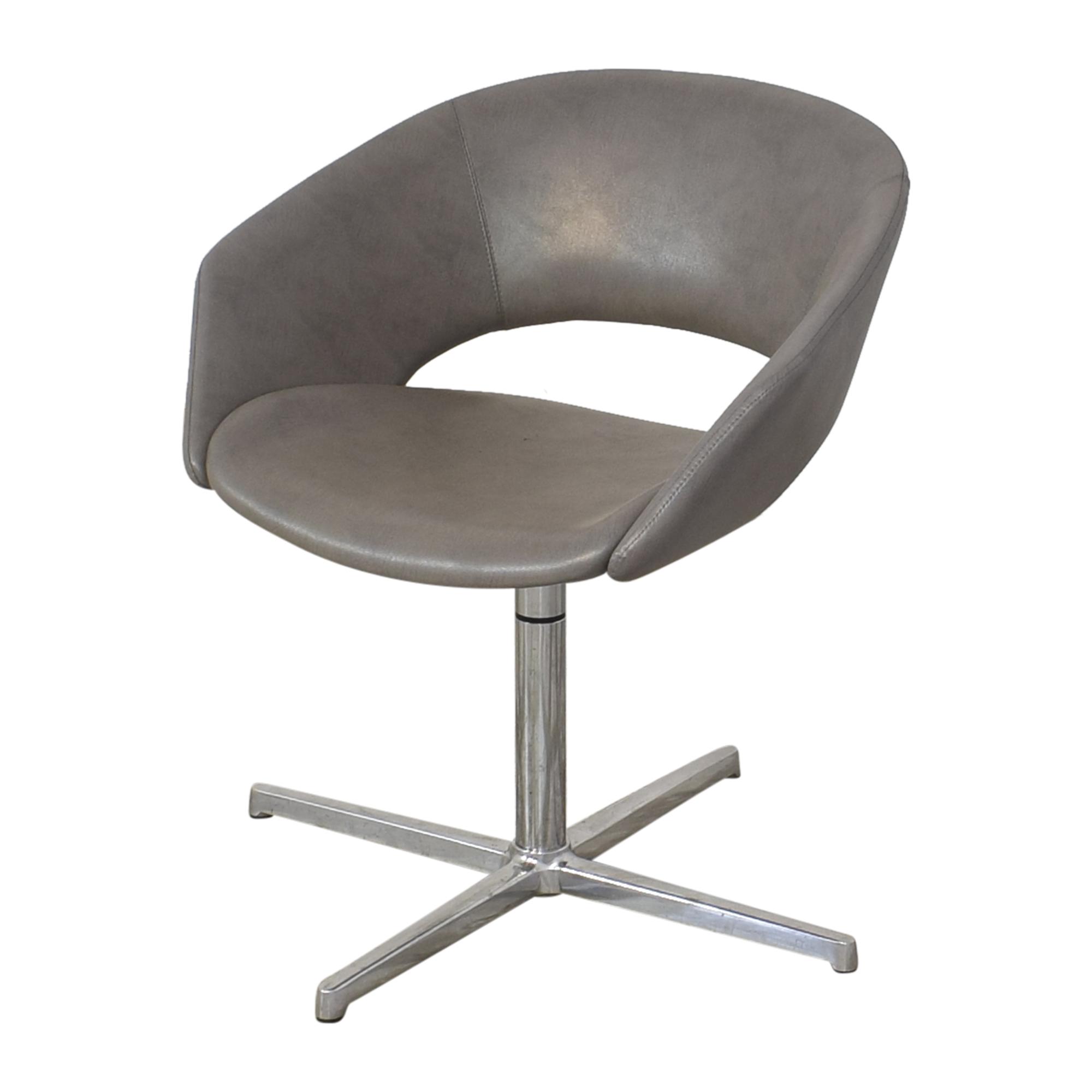 Leland International Leland Mod Pedestal Swivel Chair second hand