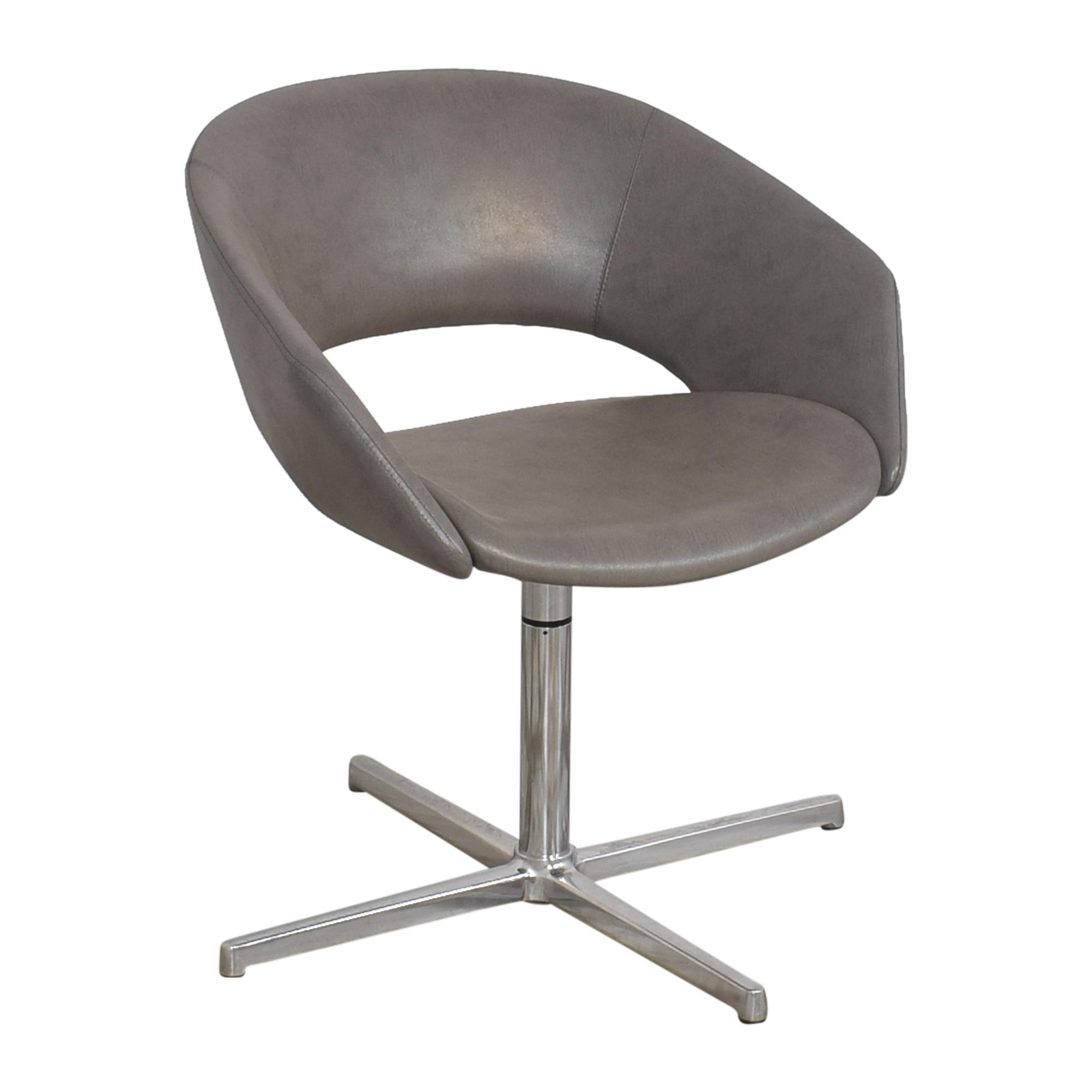 Leland International Leland Mod Pedestal Swivel Chair nyc