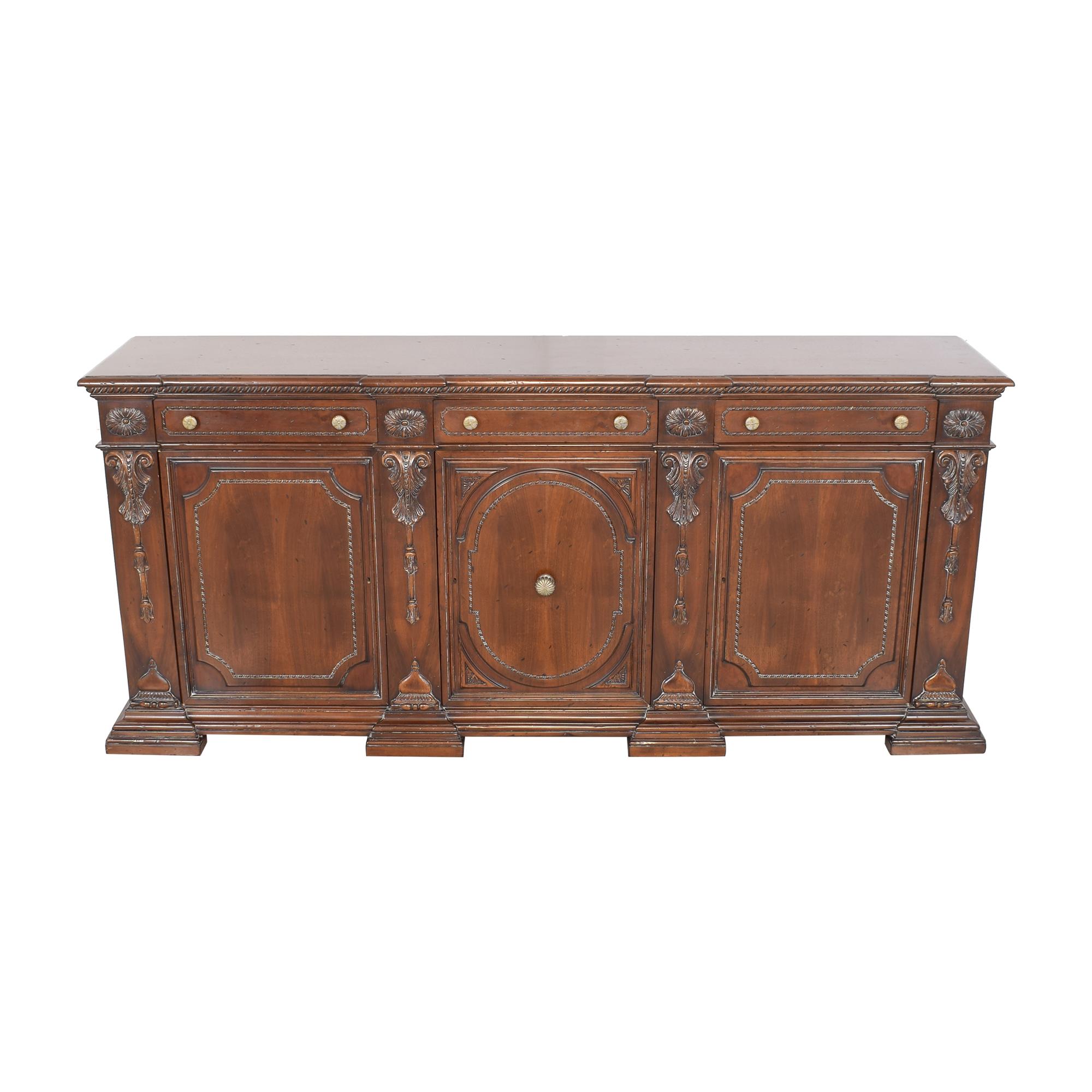 Francesco Molon XVI Century Carved Sideboard / Cabinets & Sideboards