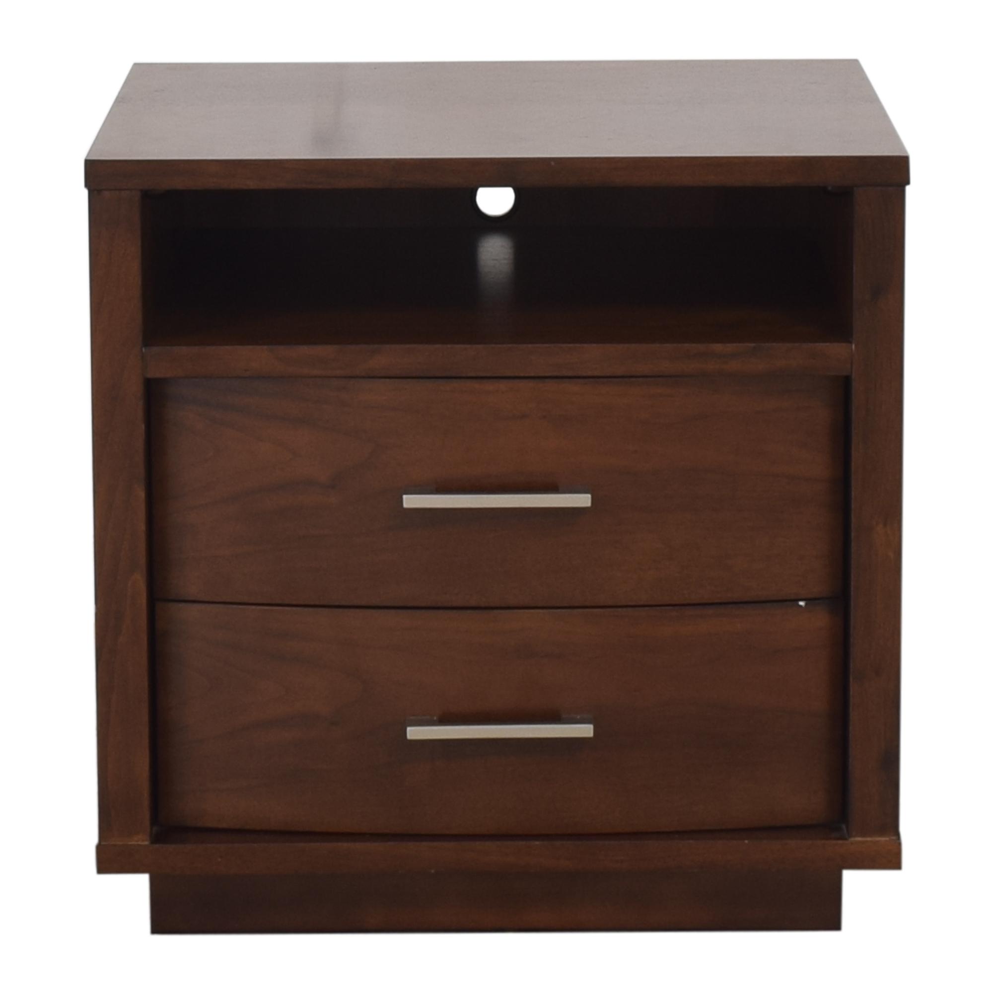Casana Furniture Casana Two Drawer Nightstand ma