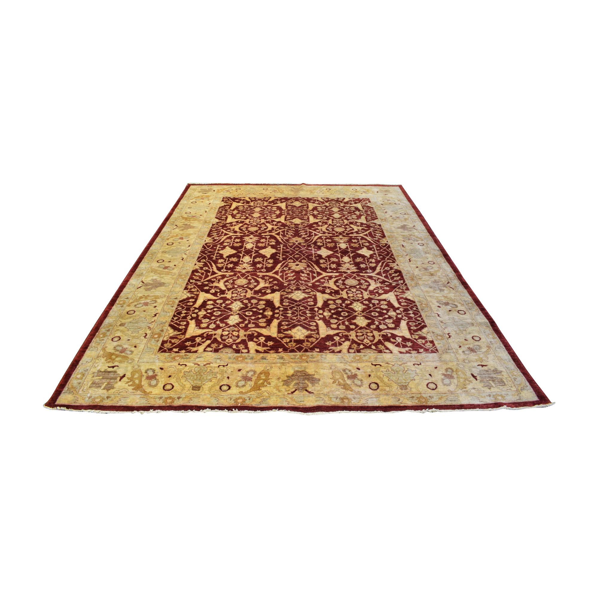 Mehreen Carpets Mehreen Carpets Border Style Area Rug dimensions
