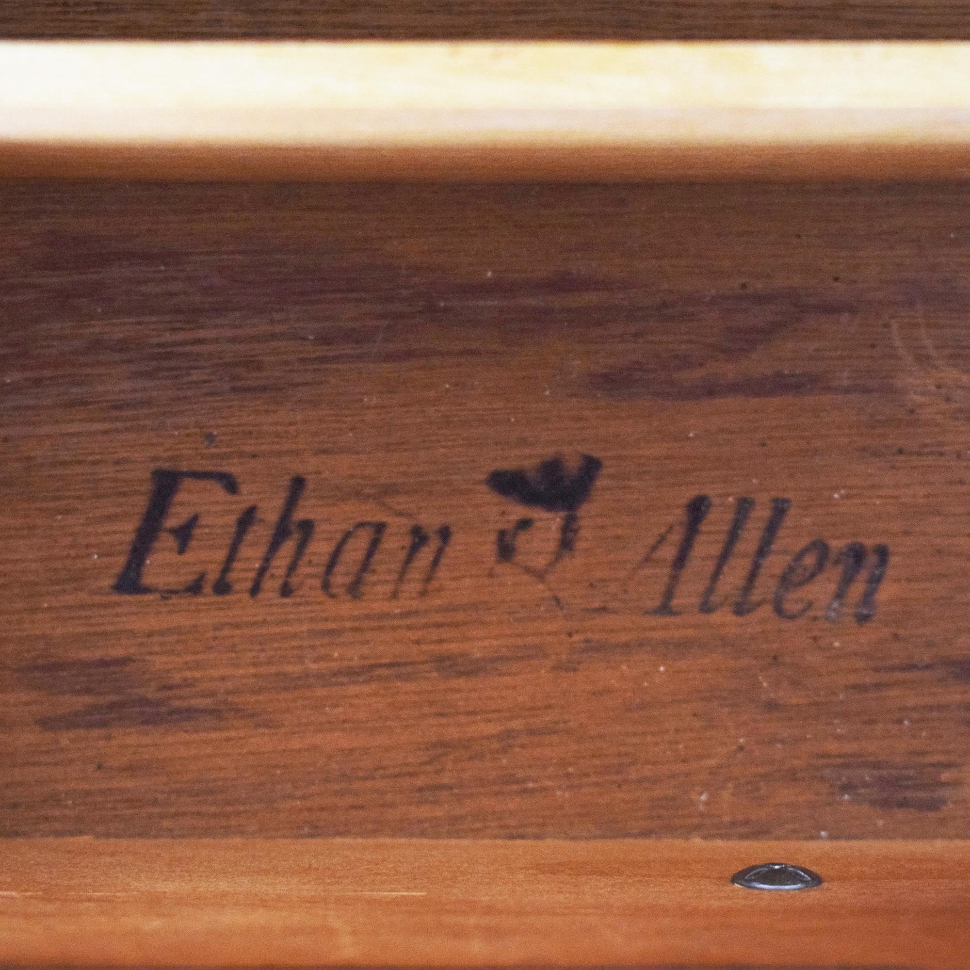 Ethan Allen Ethan Allen Old Tavern Triple Door Dresser with Twin Mirrors price