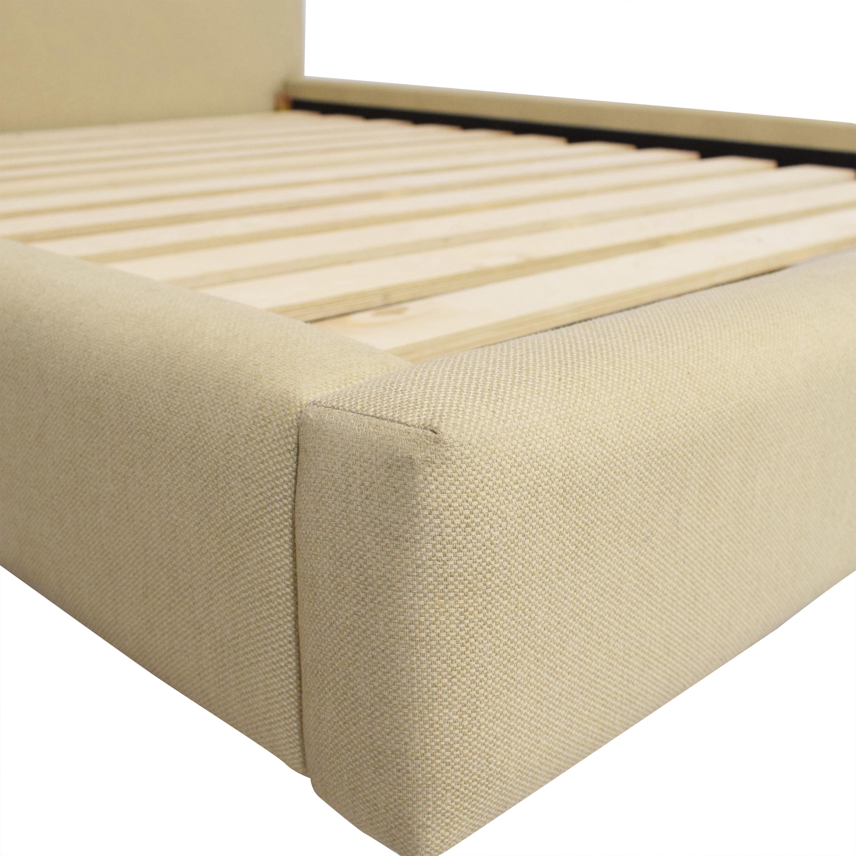 buy Crate & Barrel Tate Upholstered Queen Bed Crate & Barrel Beds