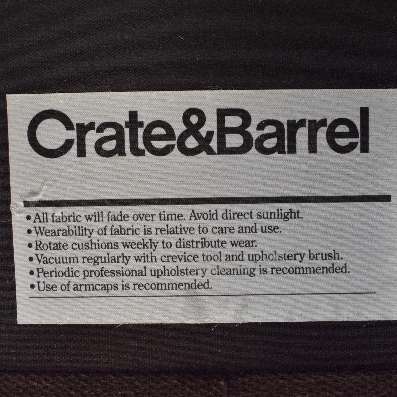 Crate & Barrel Crate & Barrel Petrie Mid Century Sofa Classic Sofas