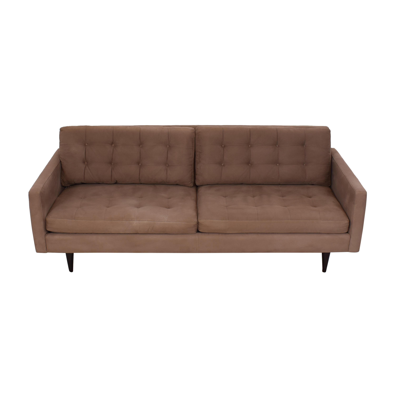 buy Crate & Barrel Crate & Barrel Petrie Mid Century Sofa online