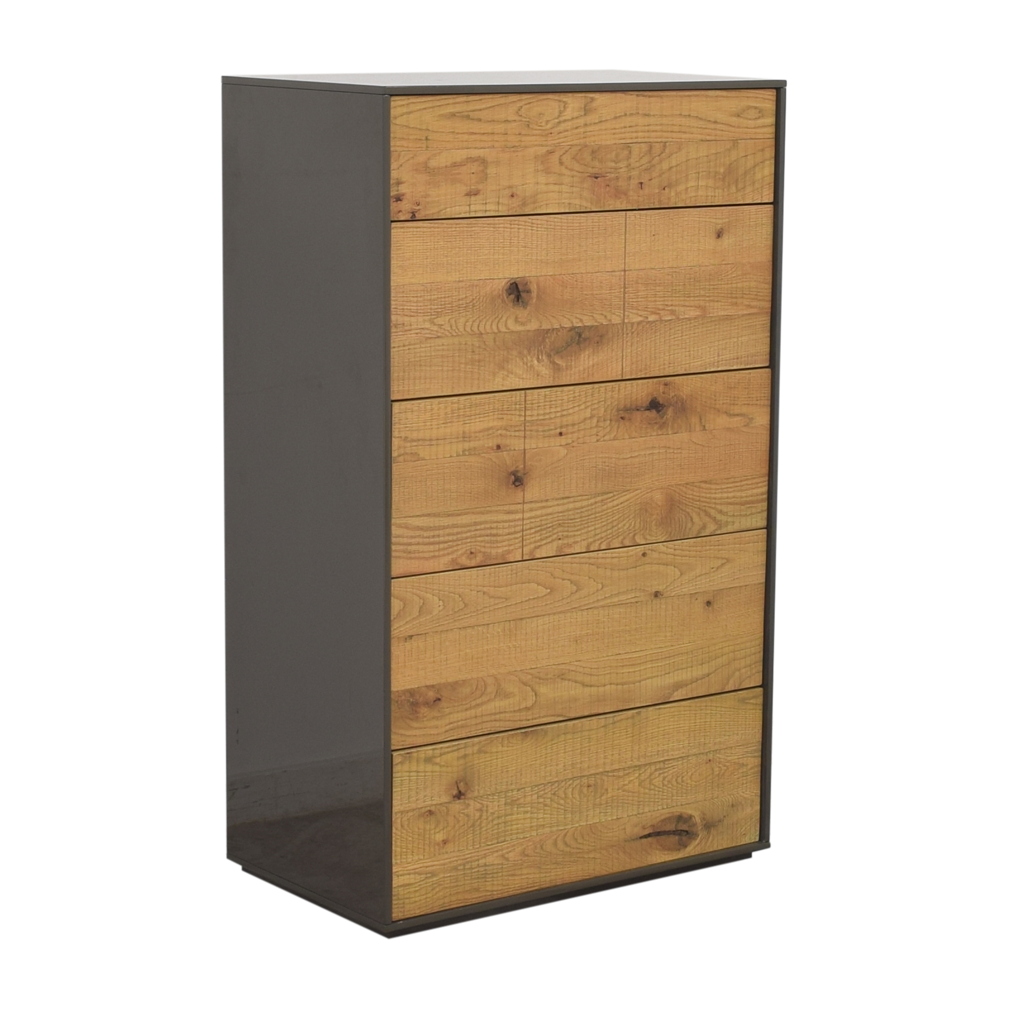 buy Crate & Barrel Cas Five Drawer Modern Rustic Chest Crate & Barrel