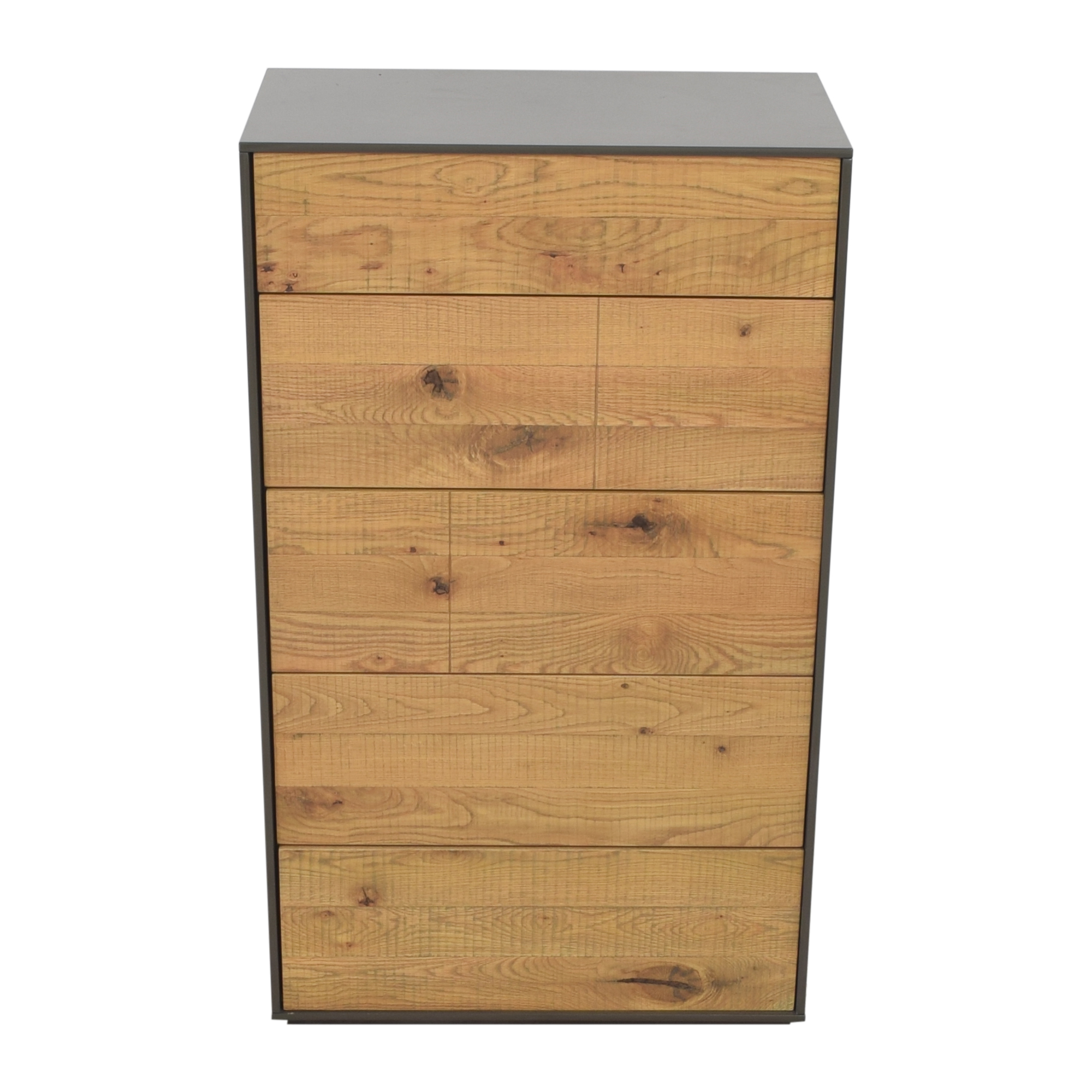 buy Crate & Barrel Cas Five Drawer Modern Rustic Chest Crate & Barrel Storage