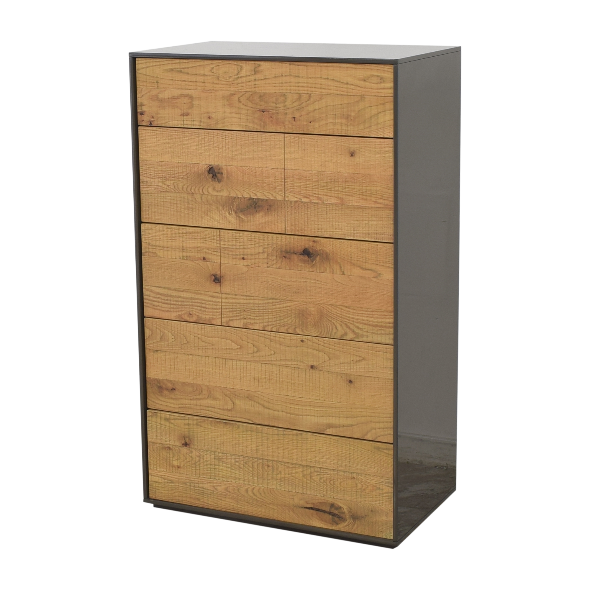 Crate & Barrel Crate & Barrel Cas Five Drawer Modern Rustic Chest