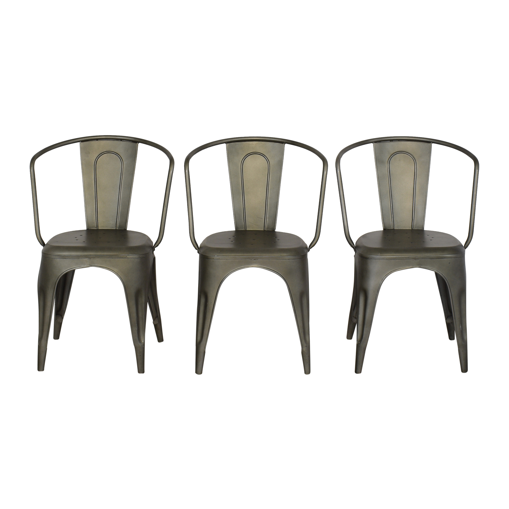 Restoration Hardware Restoration Hardware Marcel Armchairs on sale