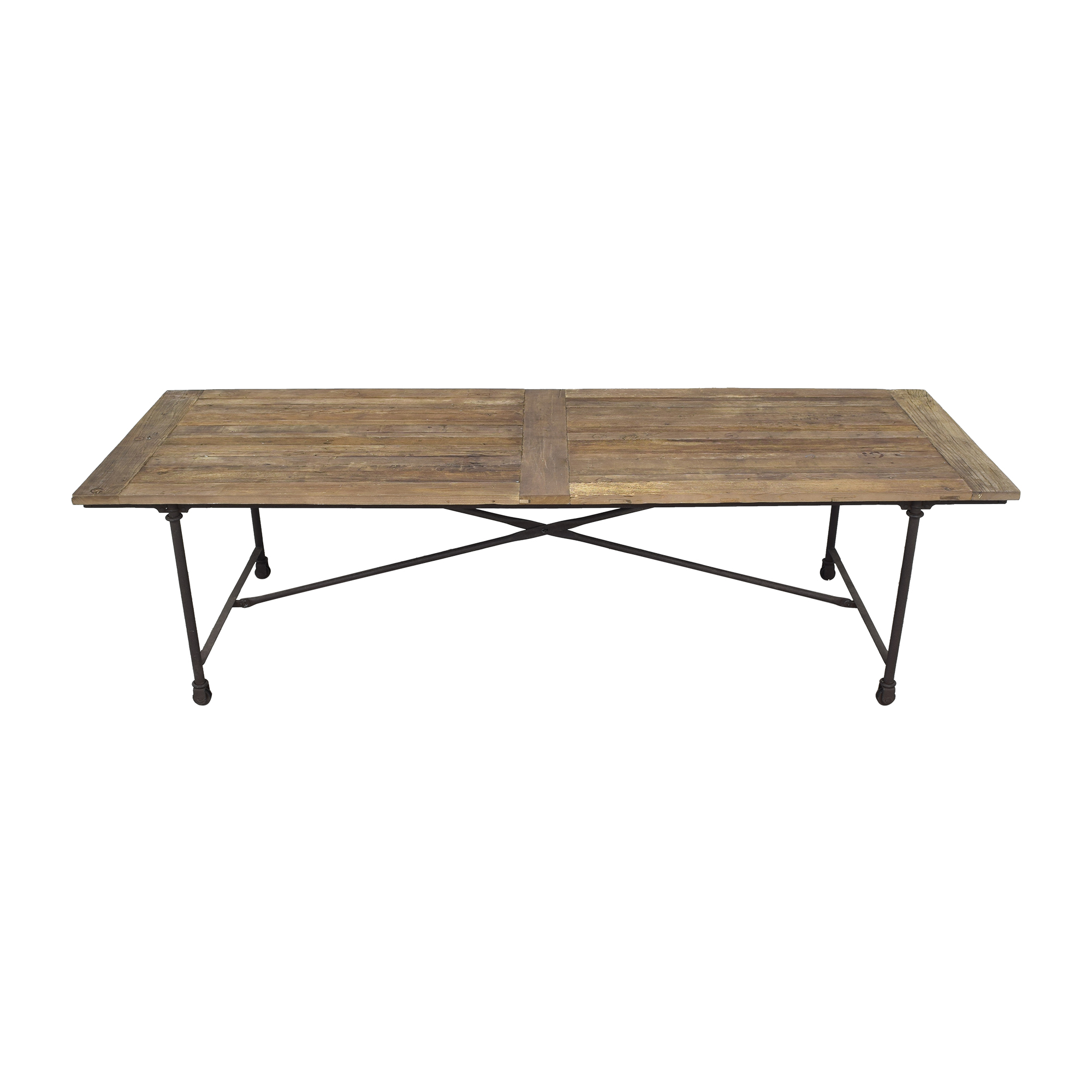 Reclaimed Wood Conference Table used