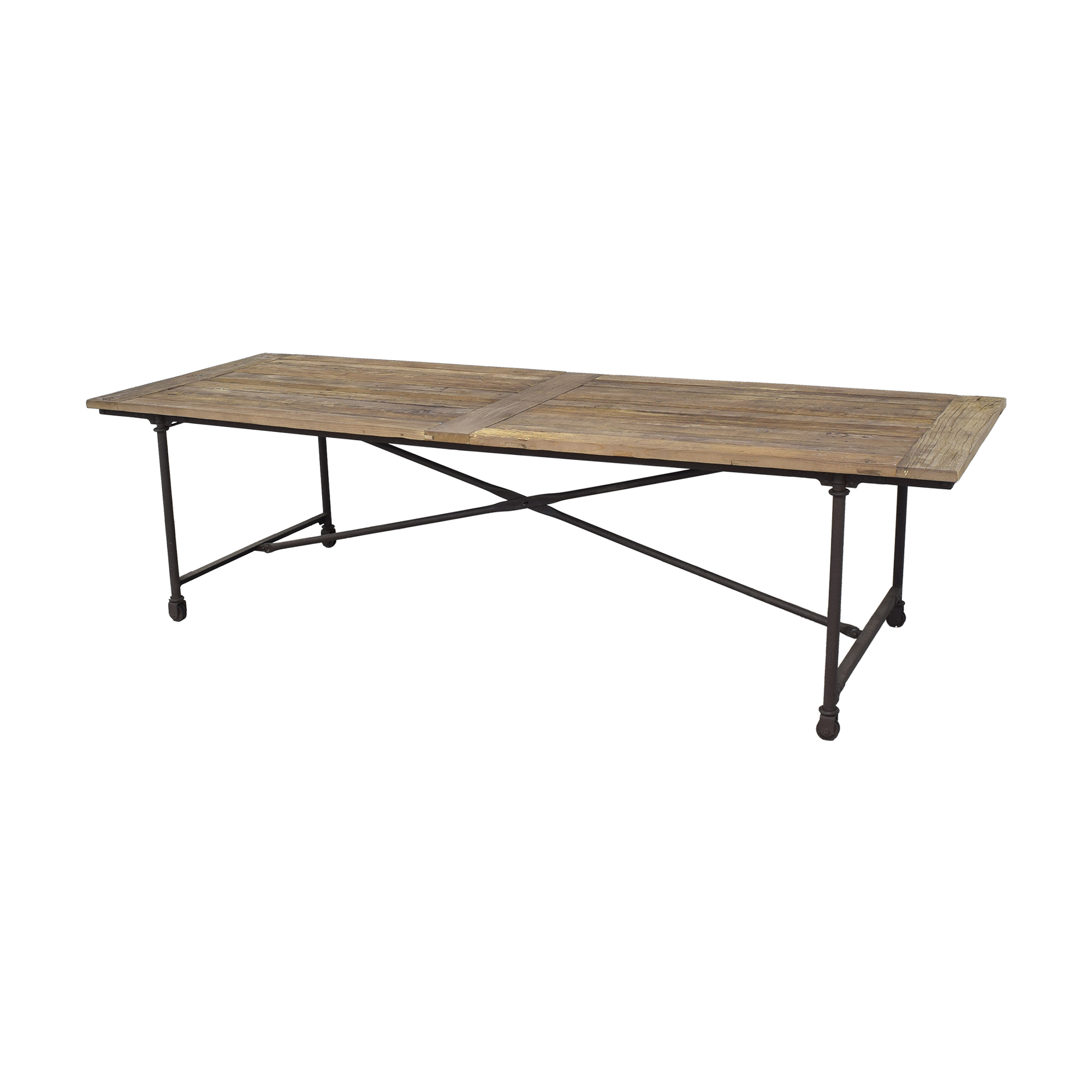 Reclaimed Wood Conference Table Dinner Tables