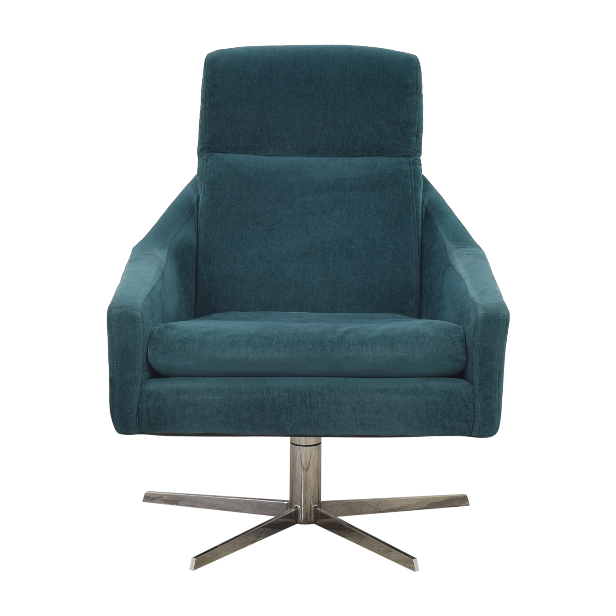 West Elm West Elm Austin Swivel Arm Chair Accent Chairs