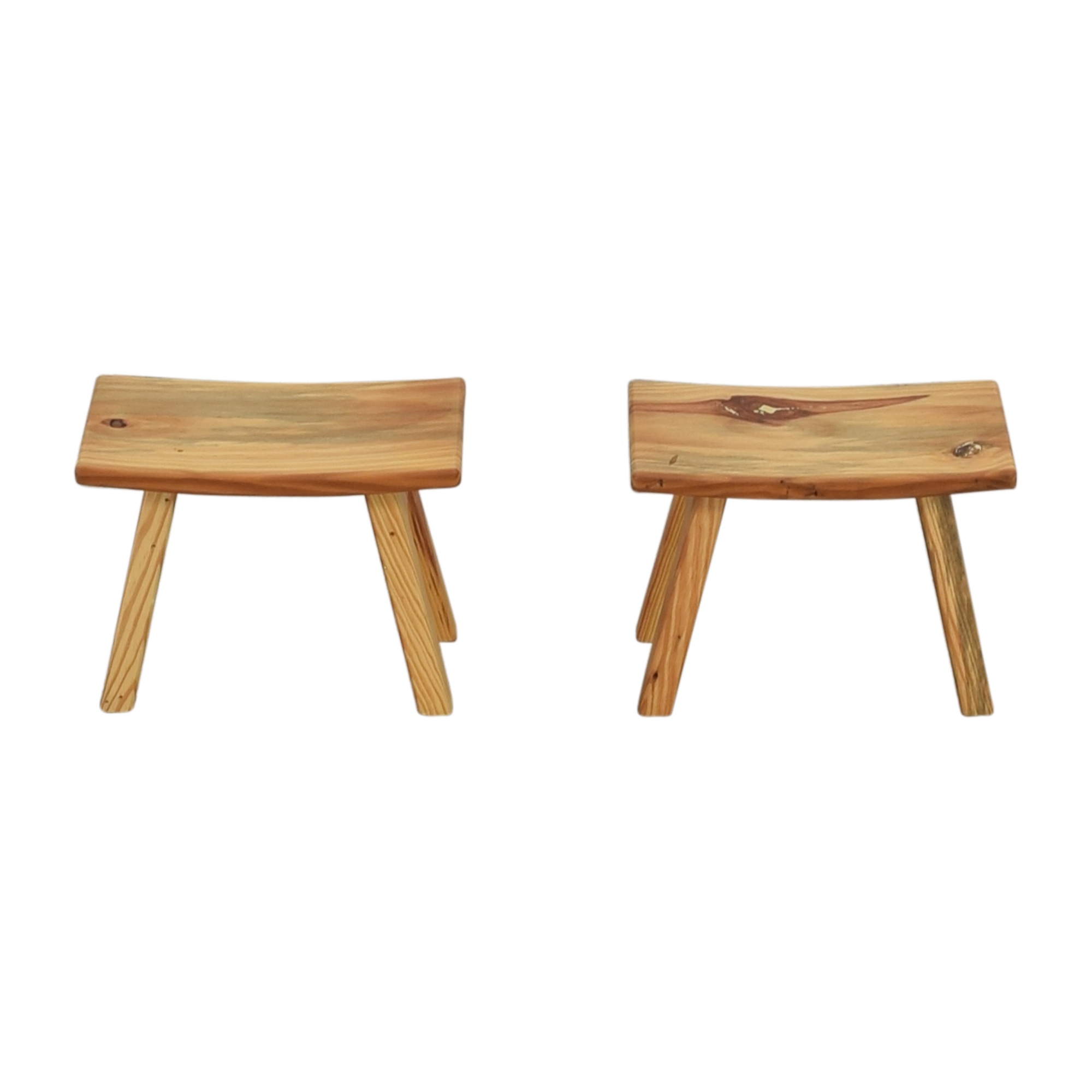 shop Room & Board Hanneman Curve Top Stools Room & Board Stools