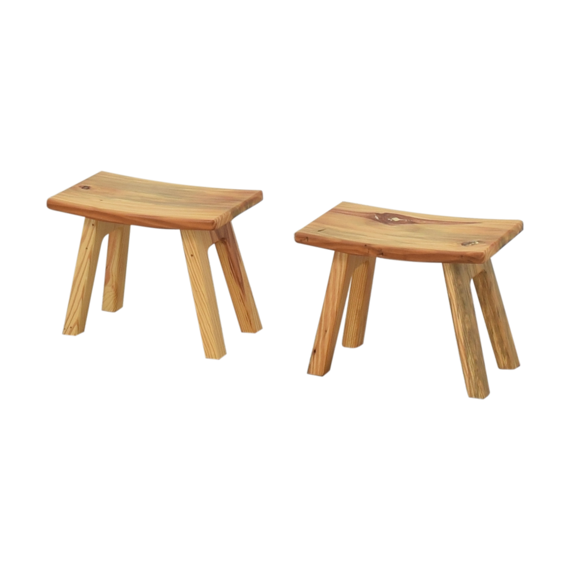 shop Room & Board Hanneman Curve Top Stools Room & Board Chairs