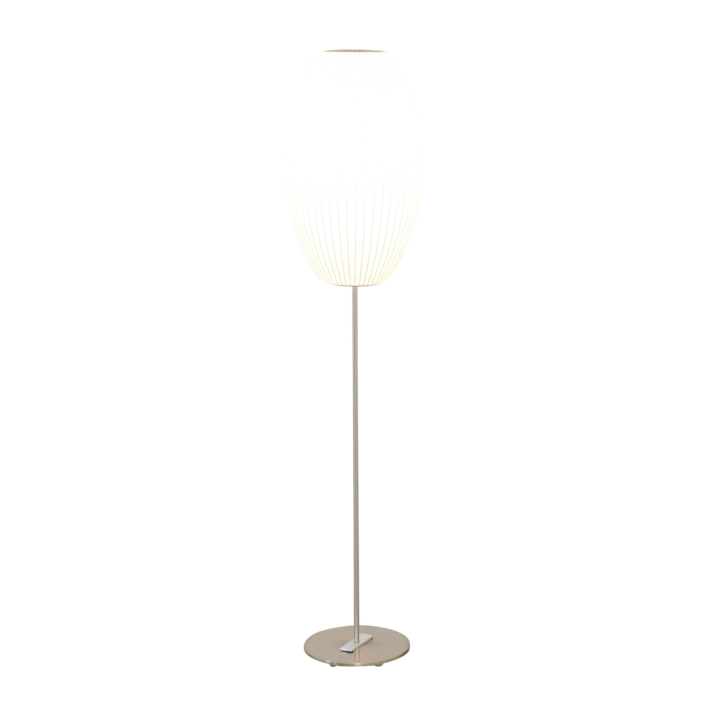 Modernica Modernica Nelson Bubble Lamps Cigar Lotus Floor Lamp dimensions