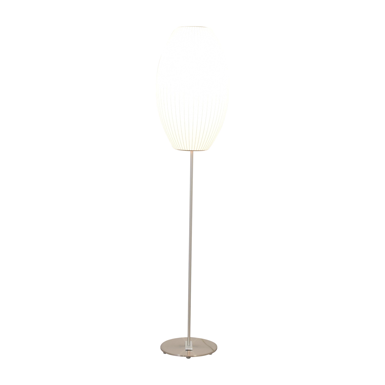 Modernica Modernica Nelson Bubble Lamps Cigar Lotus Floor Lamp Decor
