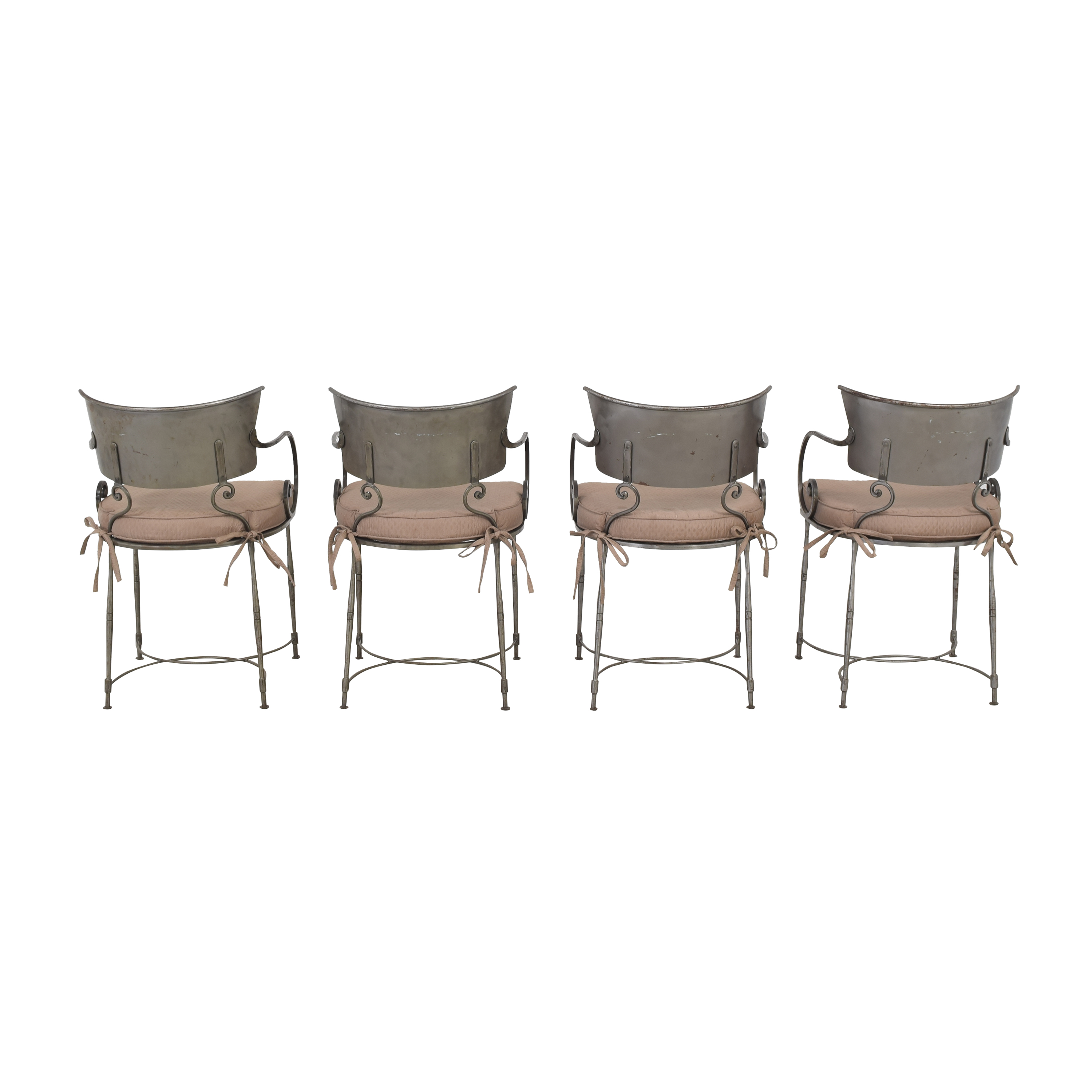 shop Bloomingdale's Art Deco Style Chairs Bloomingdale's Dining Chairs