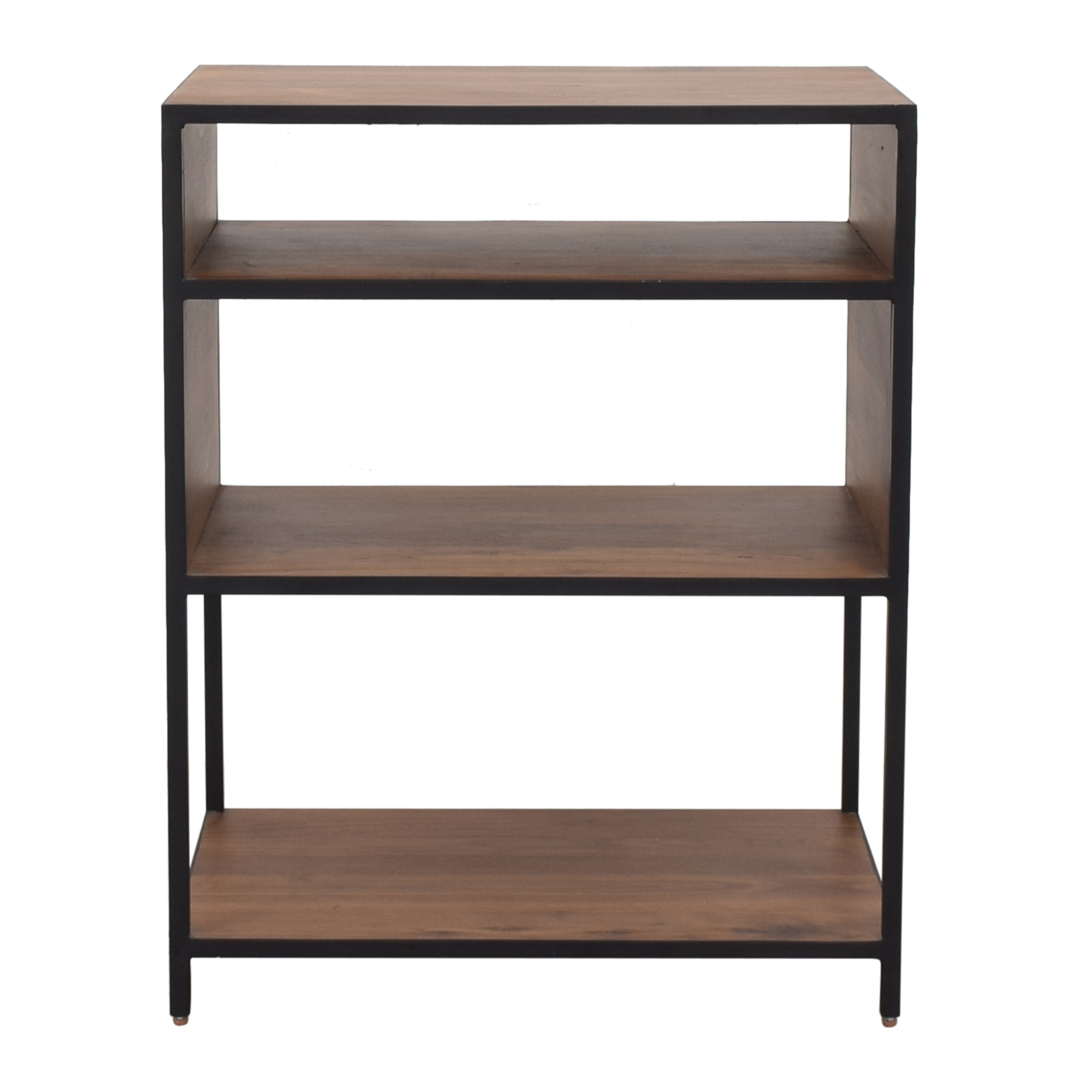 Crate & Barrel Knox Low Open Bookcase Crate & Barrel