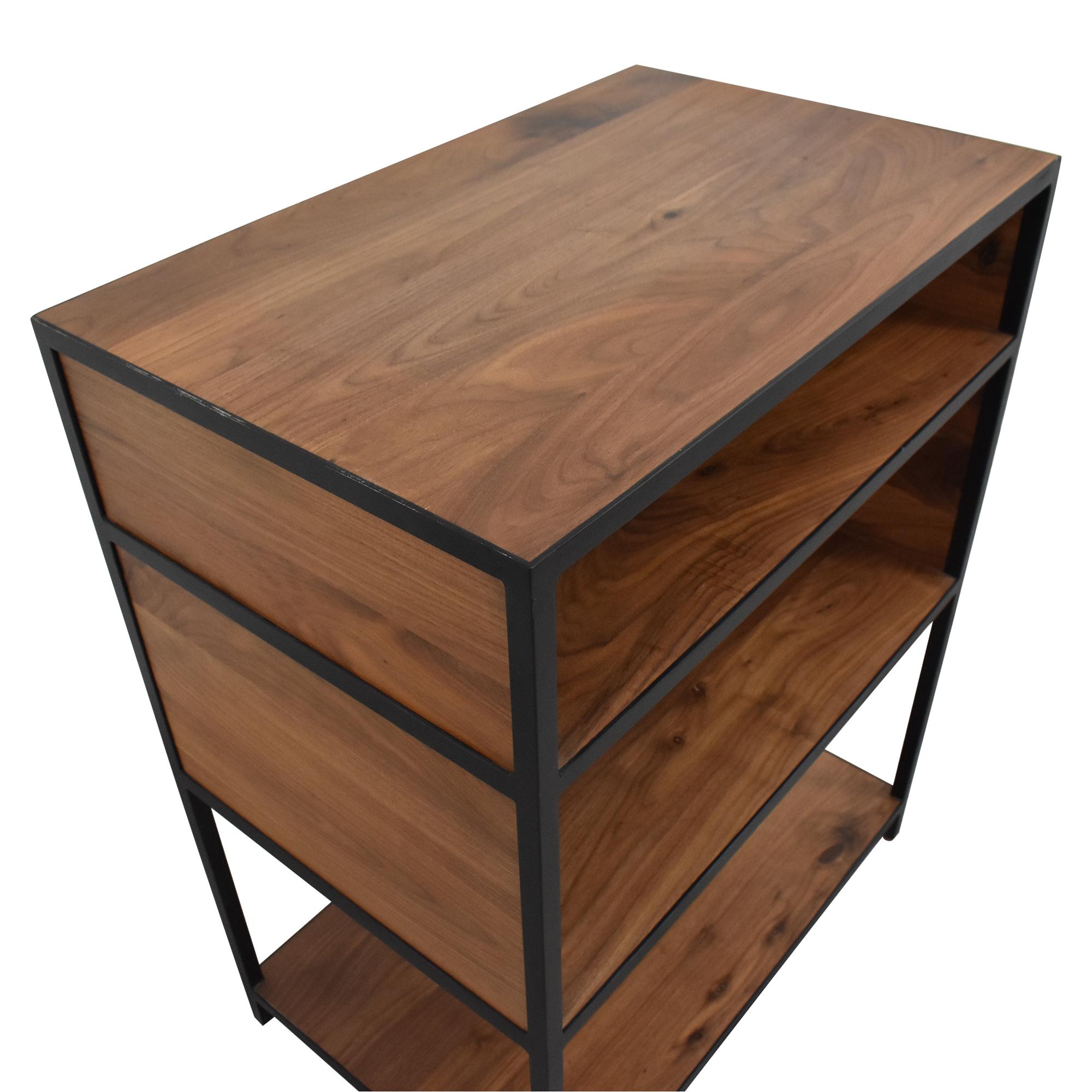 Crate & Barrel Knox Low Open Bookcase Crate & Barrel