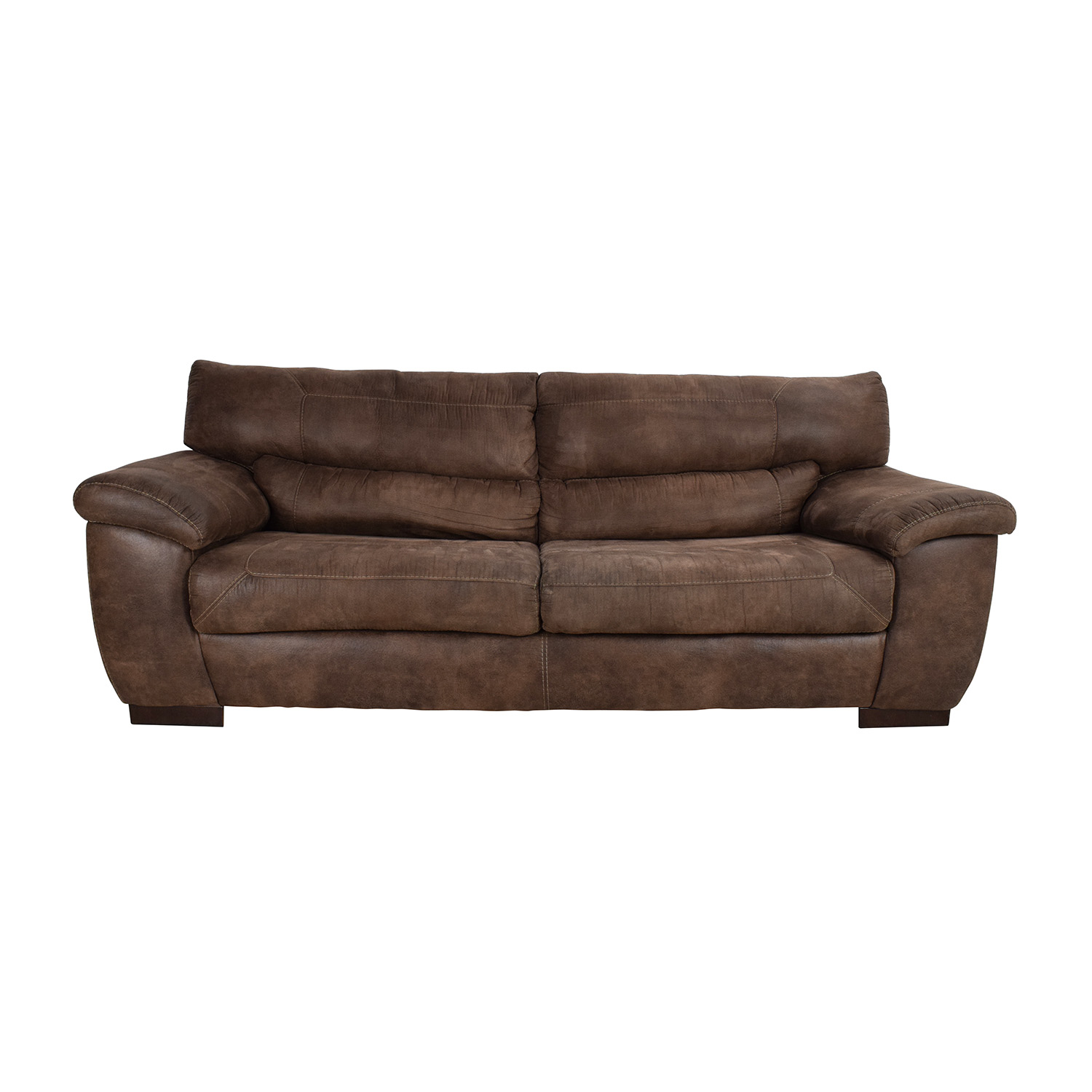 Jennifer Convertibles Jennifer Convertibles Brown Sofa on sale