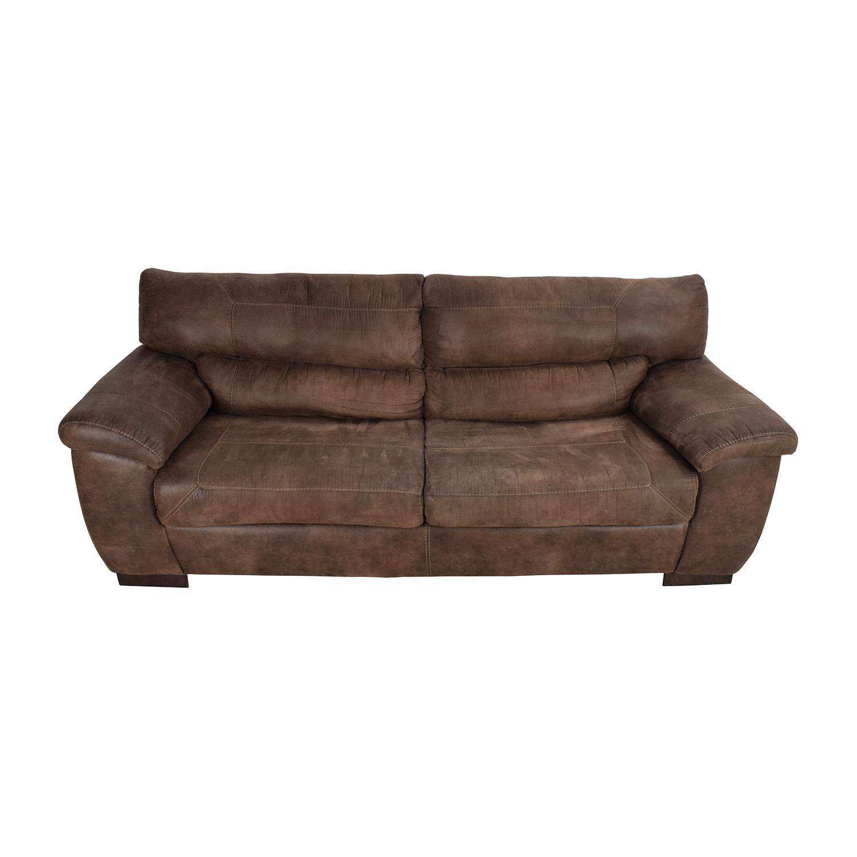 Jennifer Convertibles Brown Sofa Jennifer Convertibles