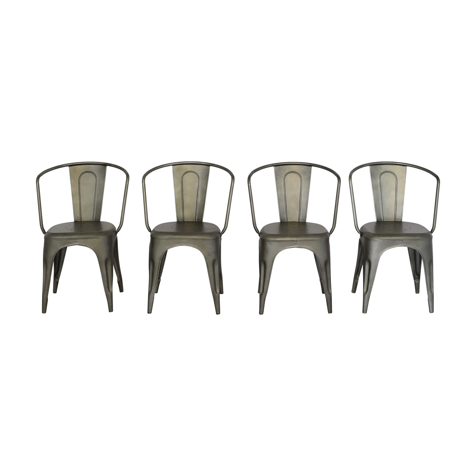Restoration Hardware Restoration Hardware Marcel Dining Arm Chairs Chairs