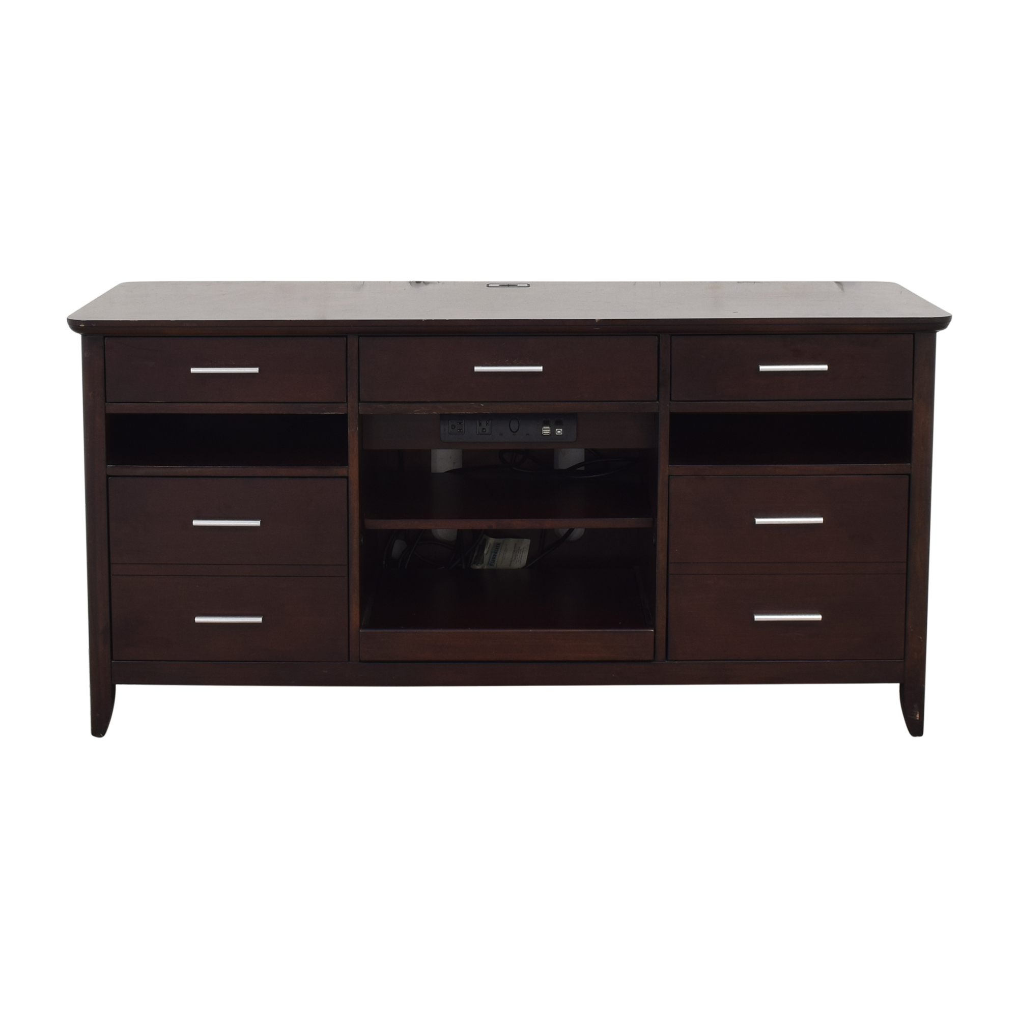 shop Hooker Furniture Computer Credenza Hooker Furniture Storage
