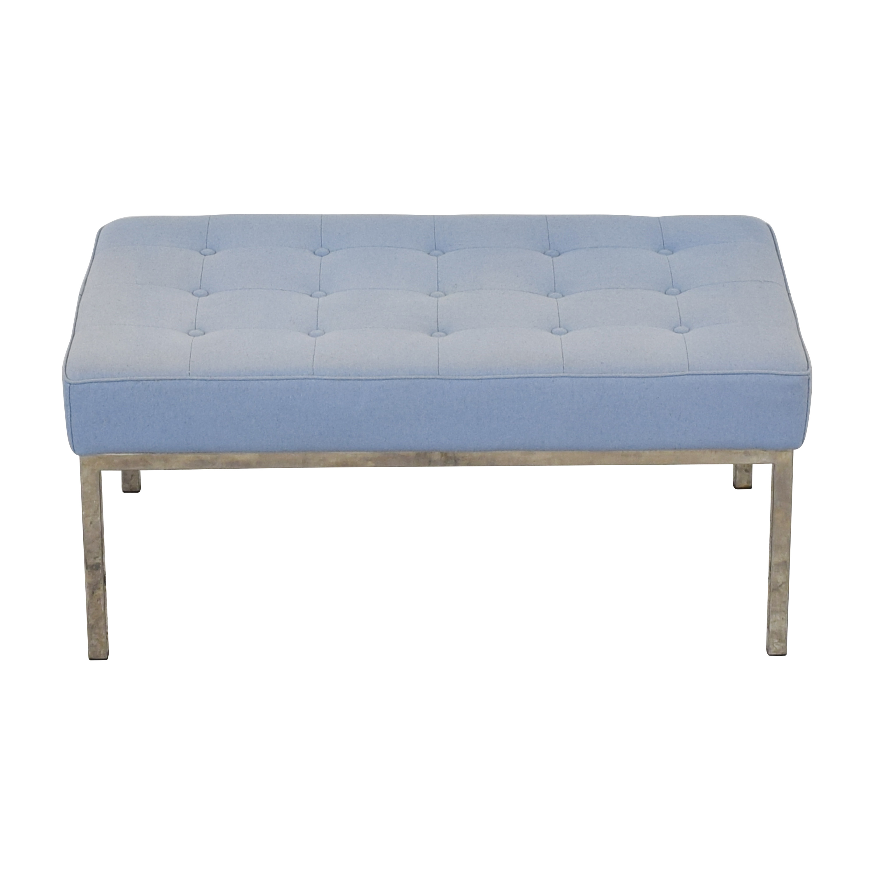 Rove Concepts Rove Concepts Mid Century Tufted Bench Benches