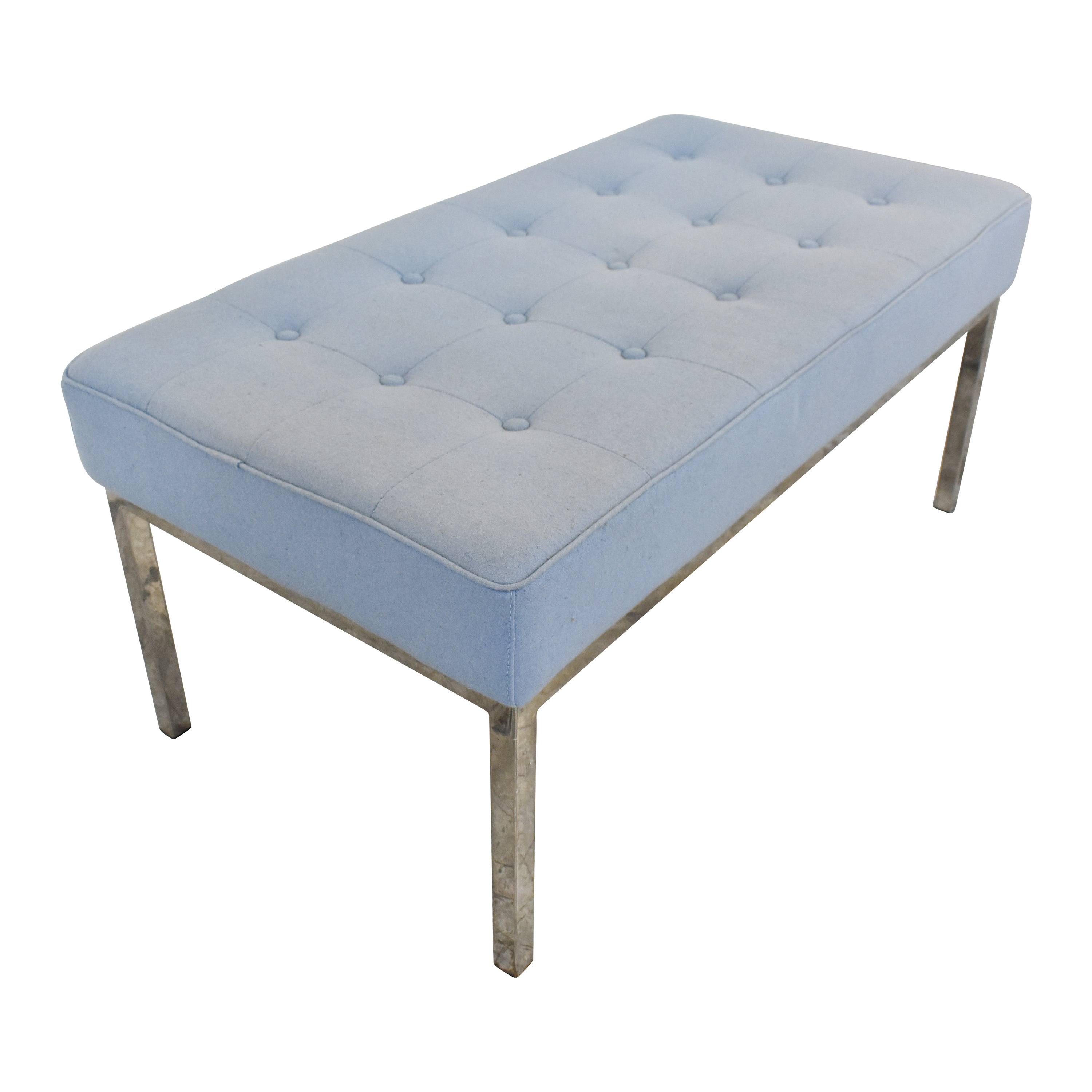 Rove Concepts Rove Concepts Mid Century Tufted Bench pa