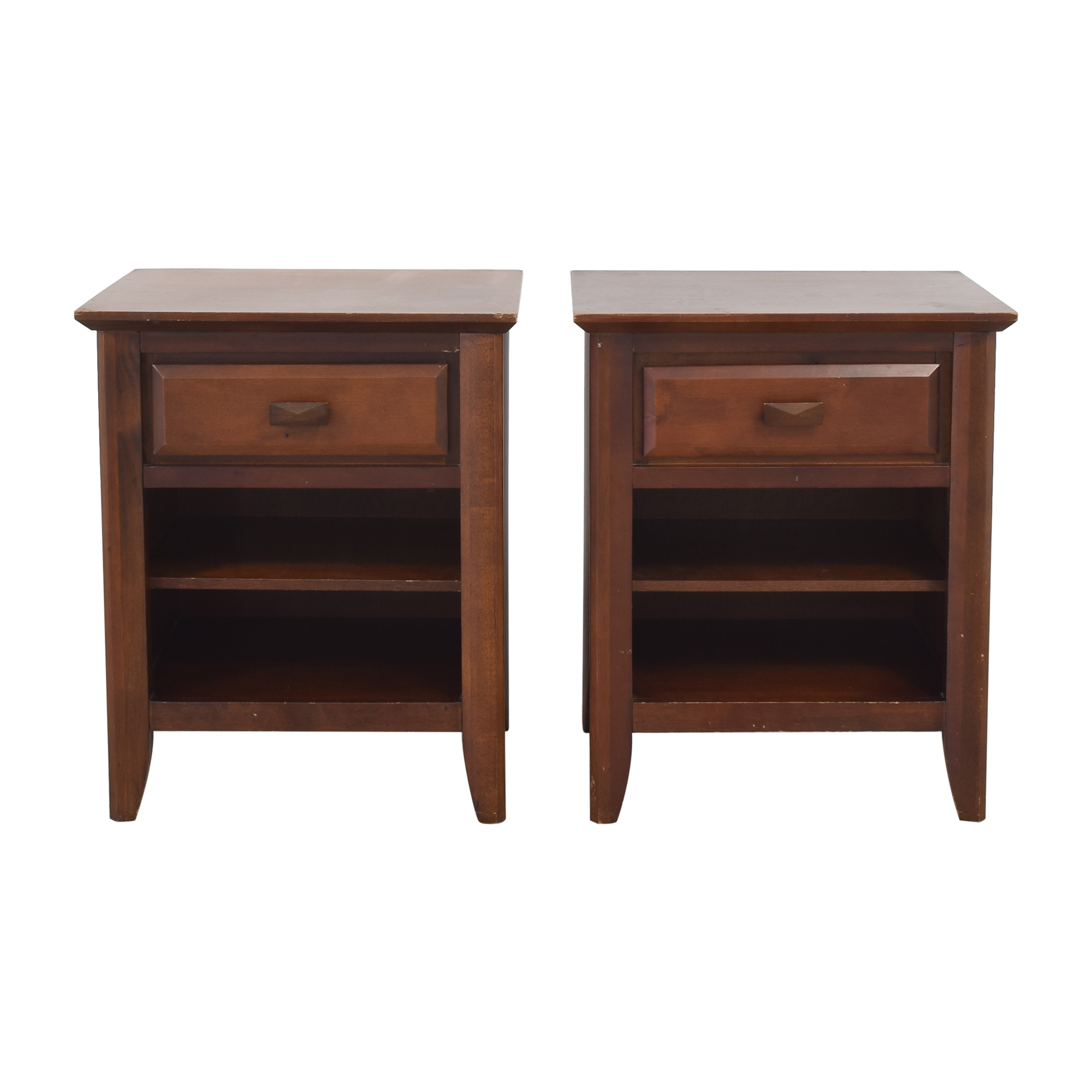 Z Gallerie Z Gallerie Night Stands with Storage End Tables