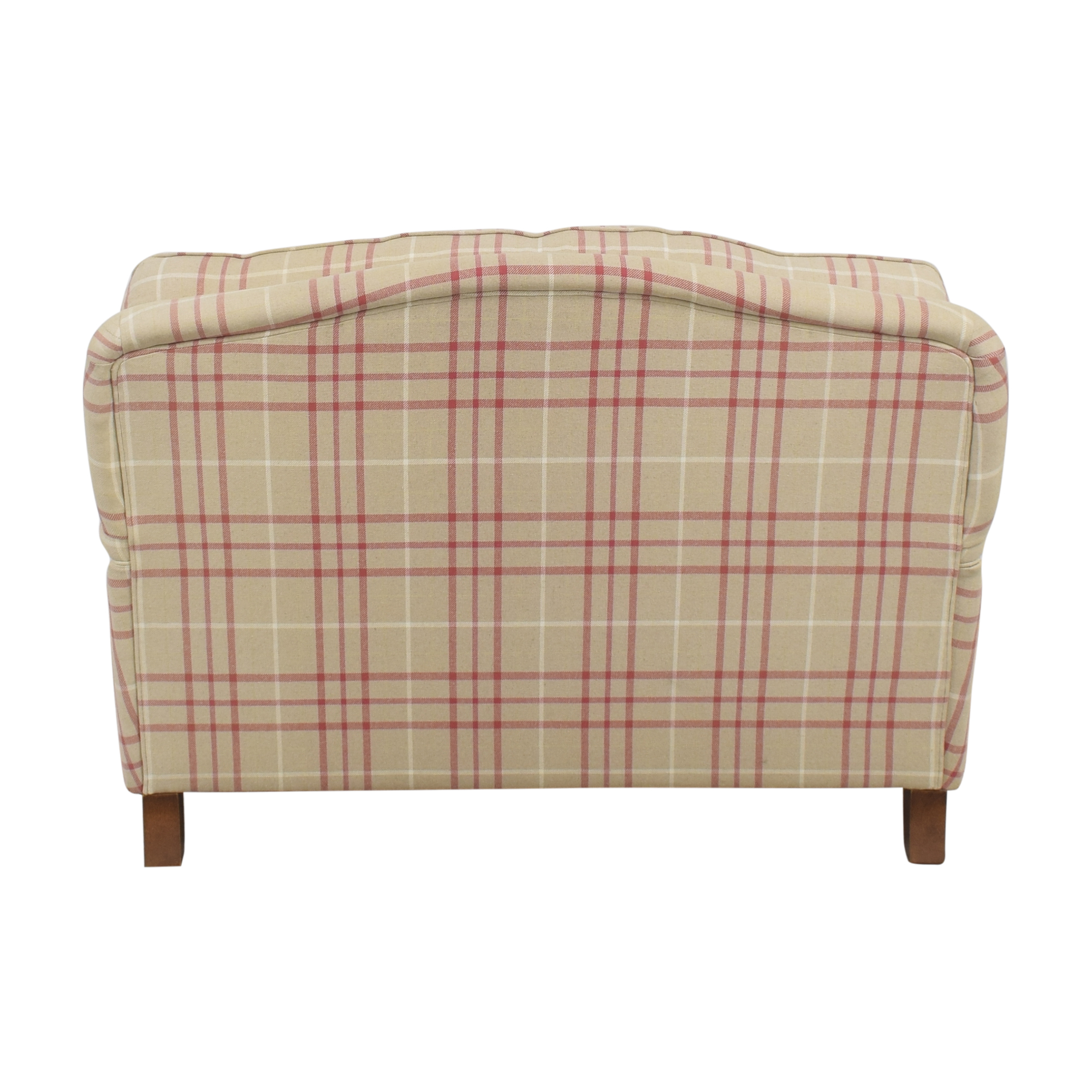 Laura Ashley Laura Ashley Lynden Snuggler Chair and a Half second hand