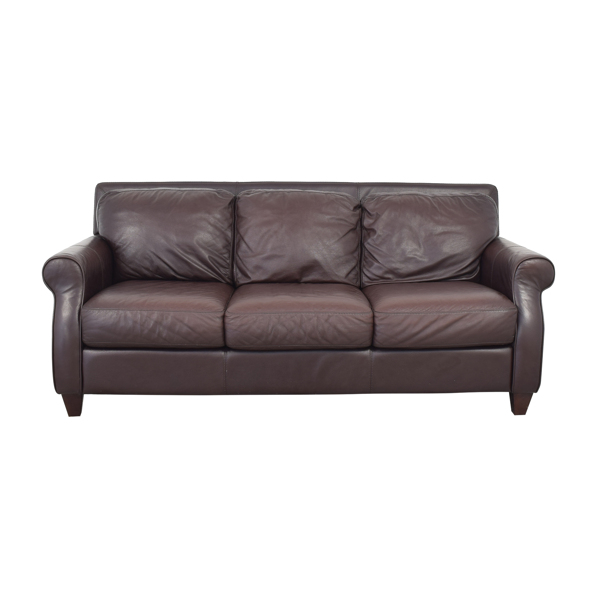 shop Raymour & Flanigan Three Cushion Sofa Raymour & Flanigan Classic Sofas