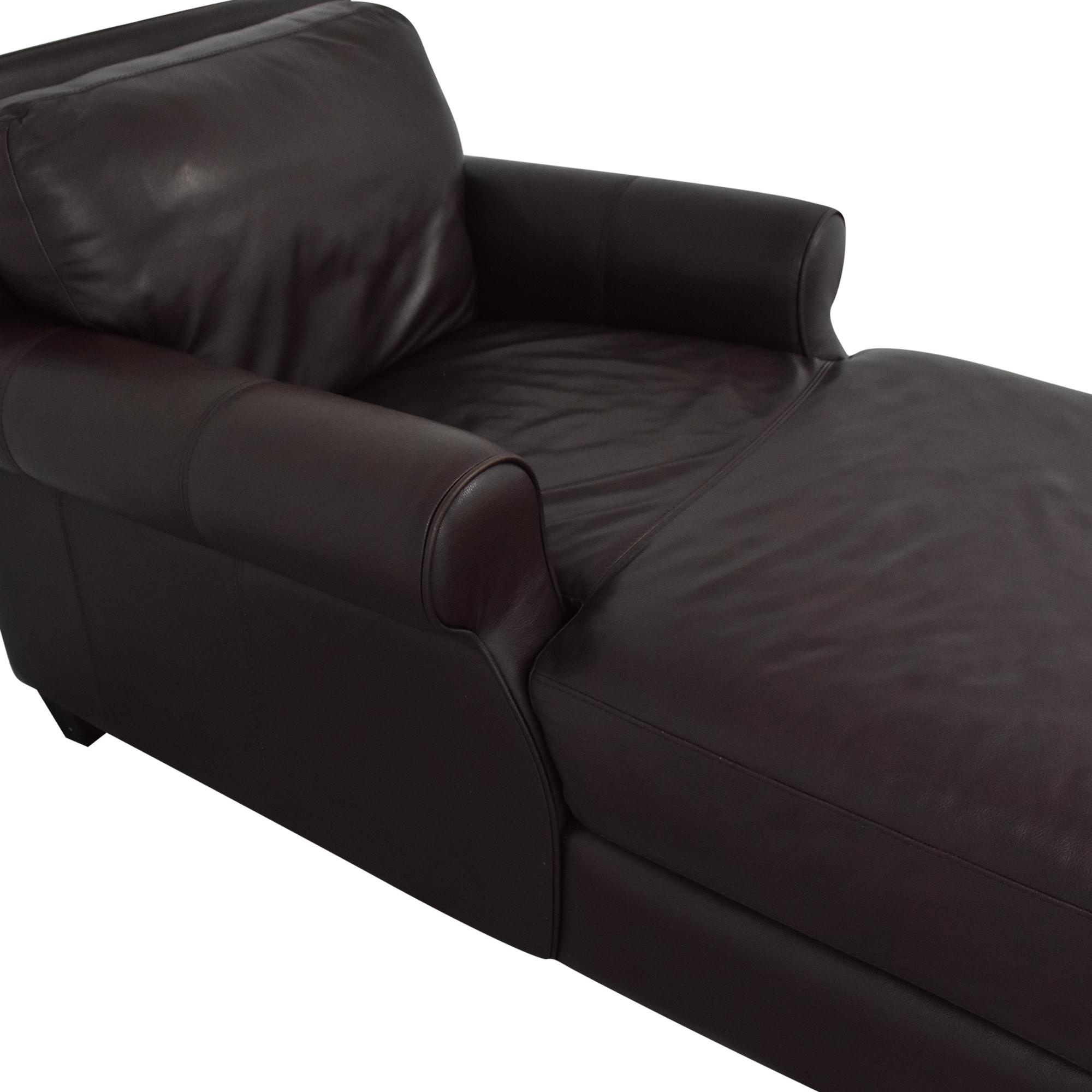 Chateau d'Ax Chateau d'Ax Roll Arm Chaise Chair Sofas