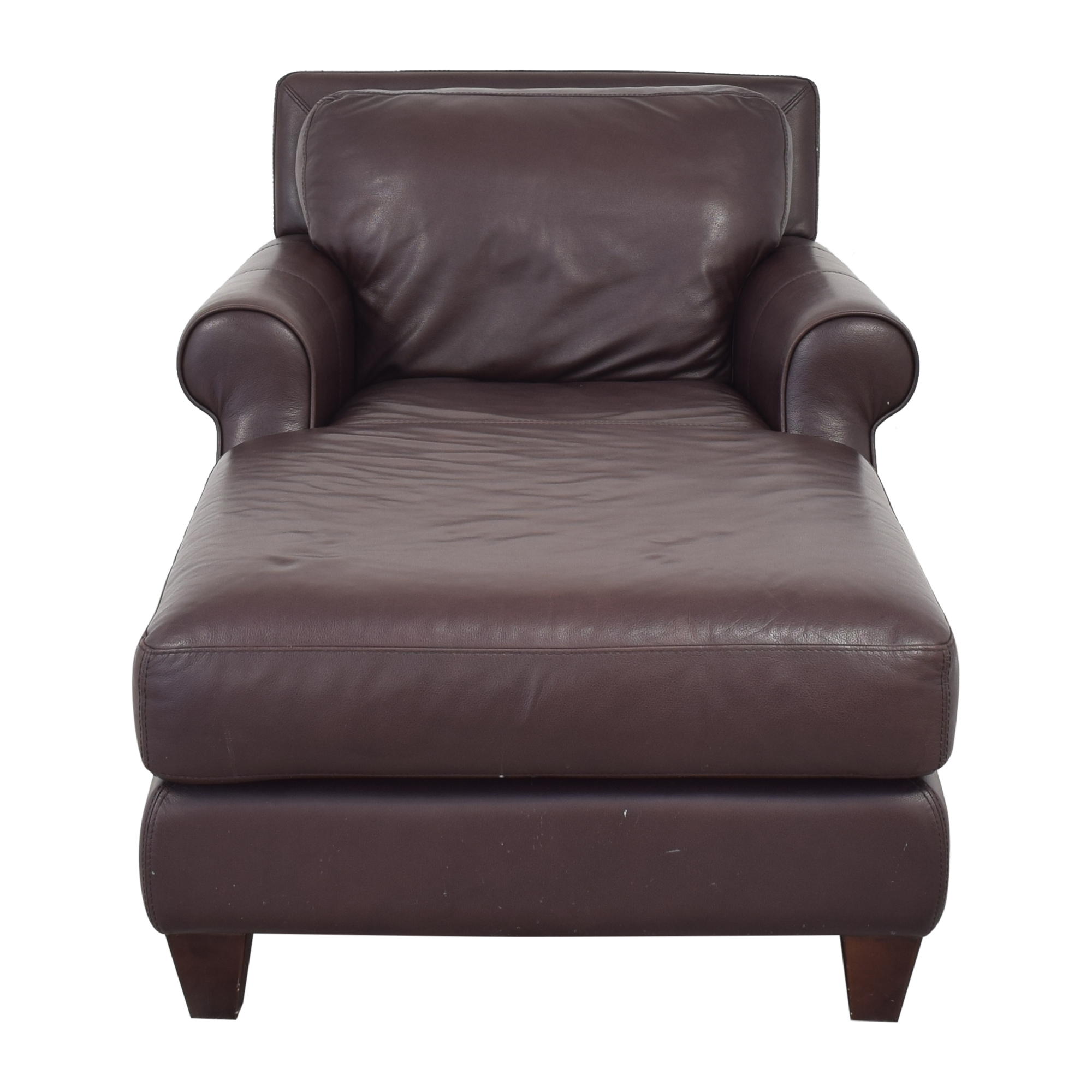 shop Chateau d'Ax Roll Arm Chaise Chair Chateau d'Ax Chaises