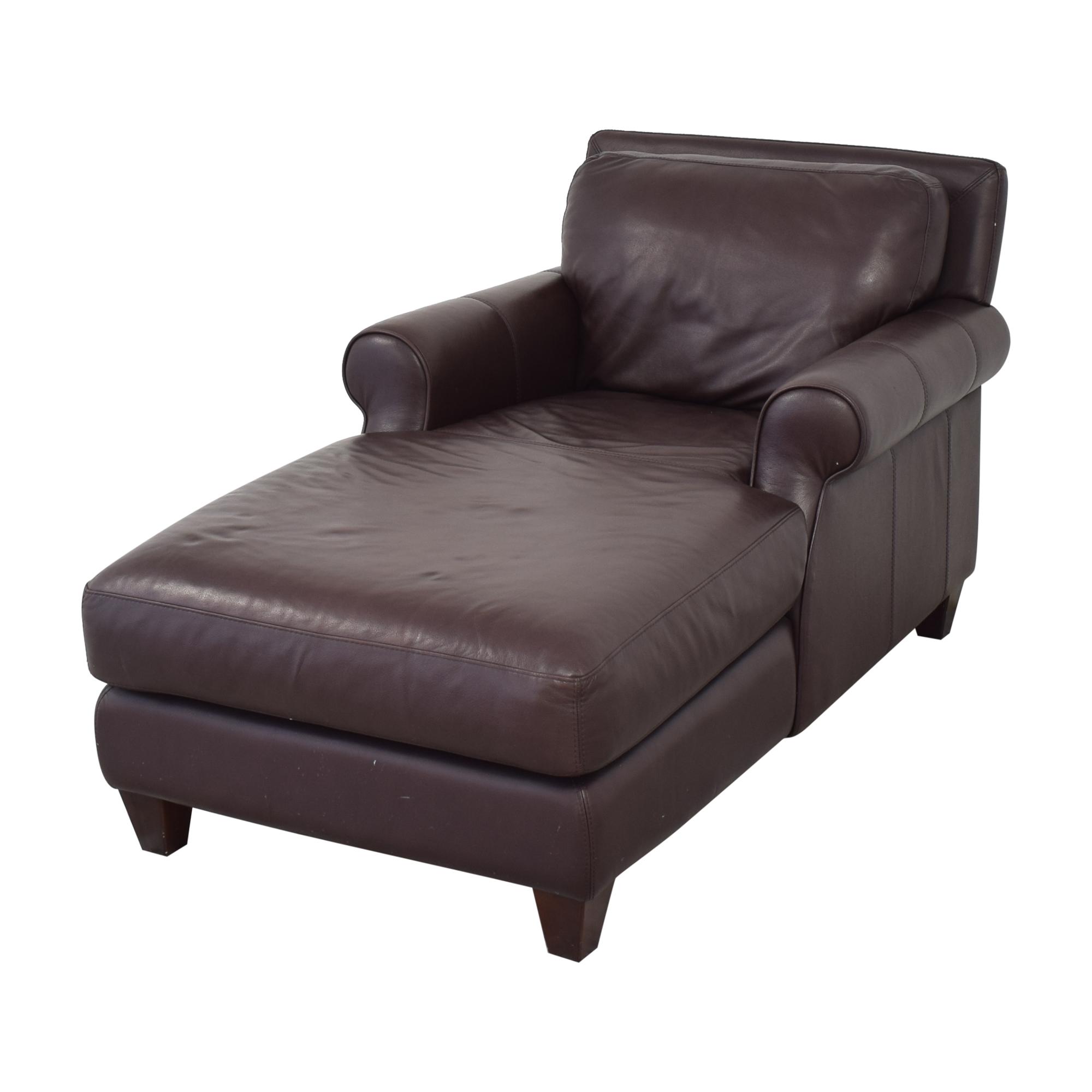 shop Chateau d'Ax Roll Arm Chaise Chair Chateau d'Ax Chaises