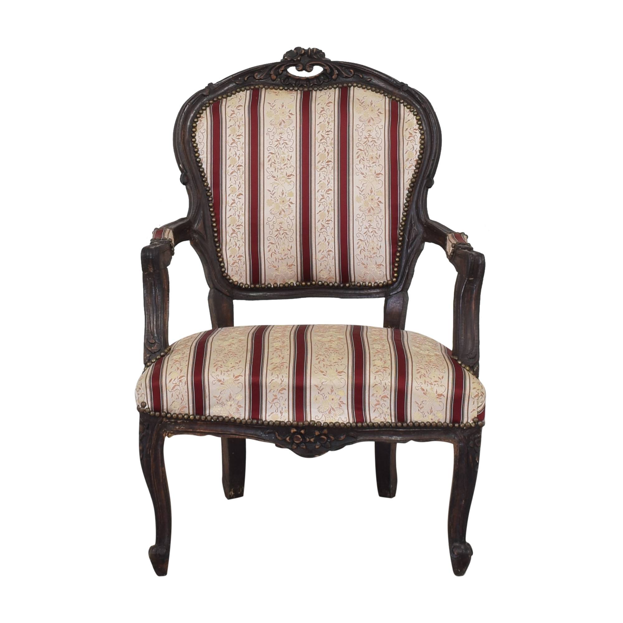 Striped Accent Chair nj