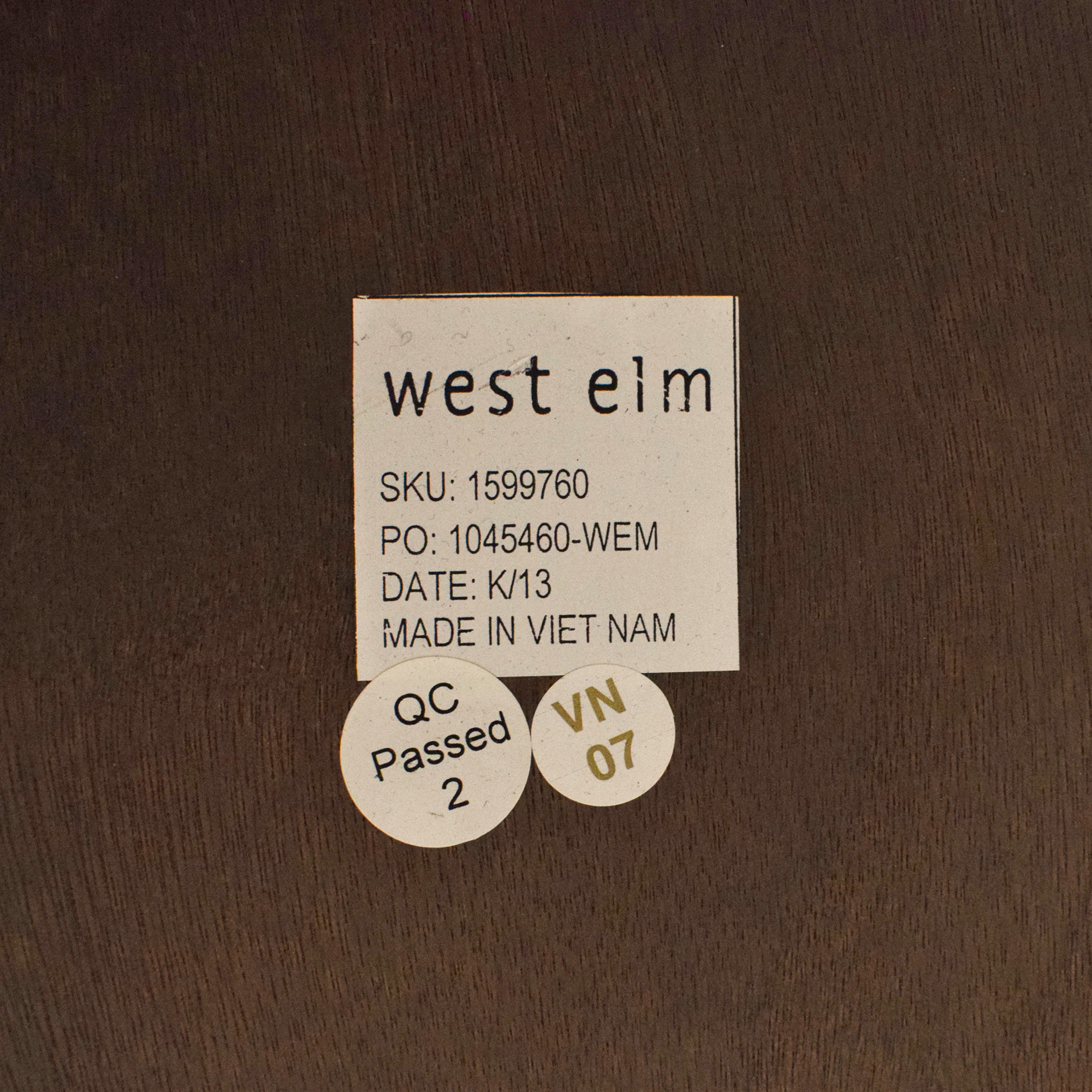 West Elm West Elm Lubna Chowdhary Tiled Dining Table ct