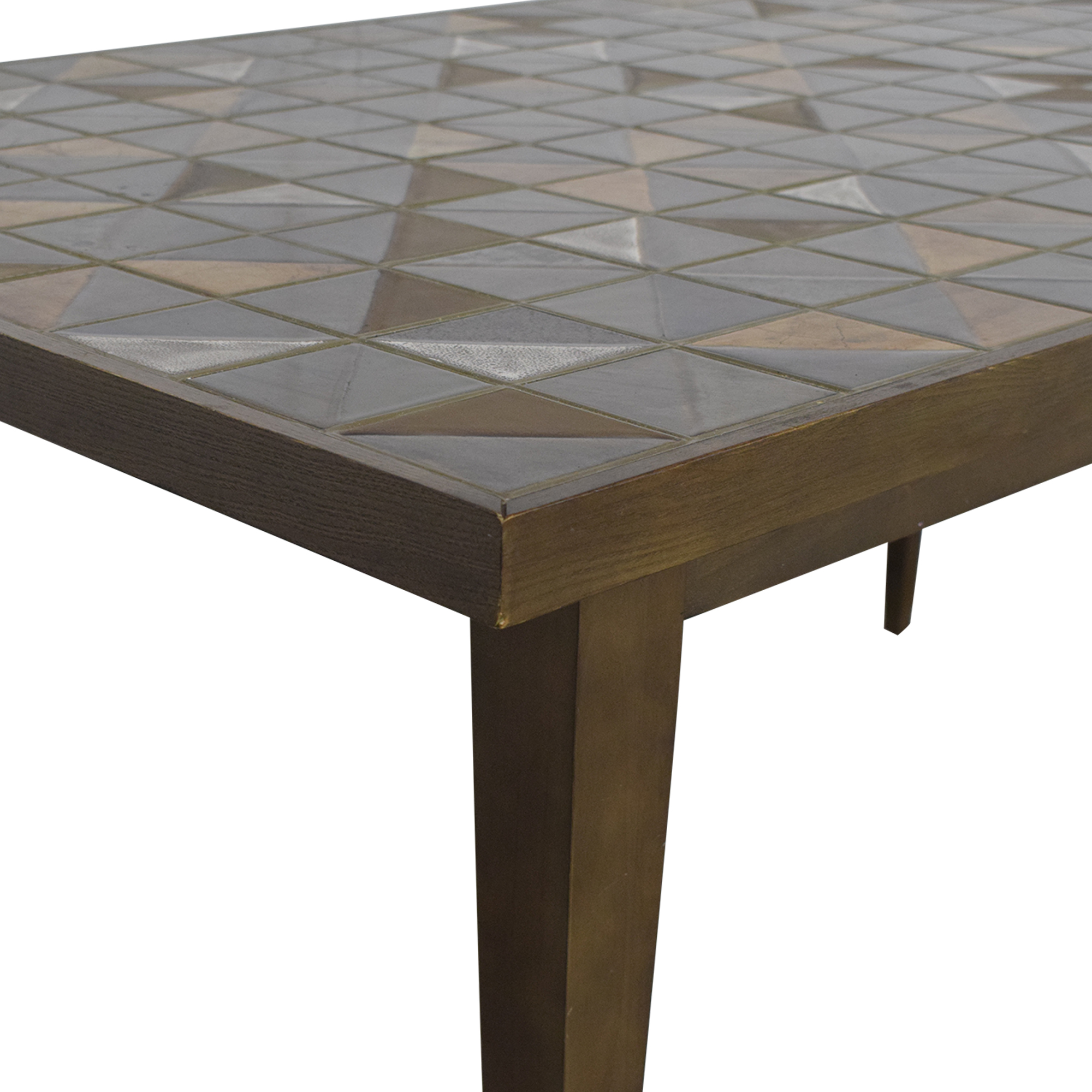 West Elm West Elm Lubna Chowdhary Tiled Dining Table pa