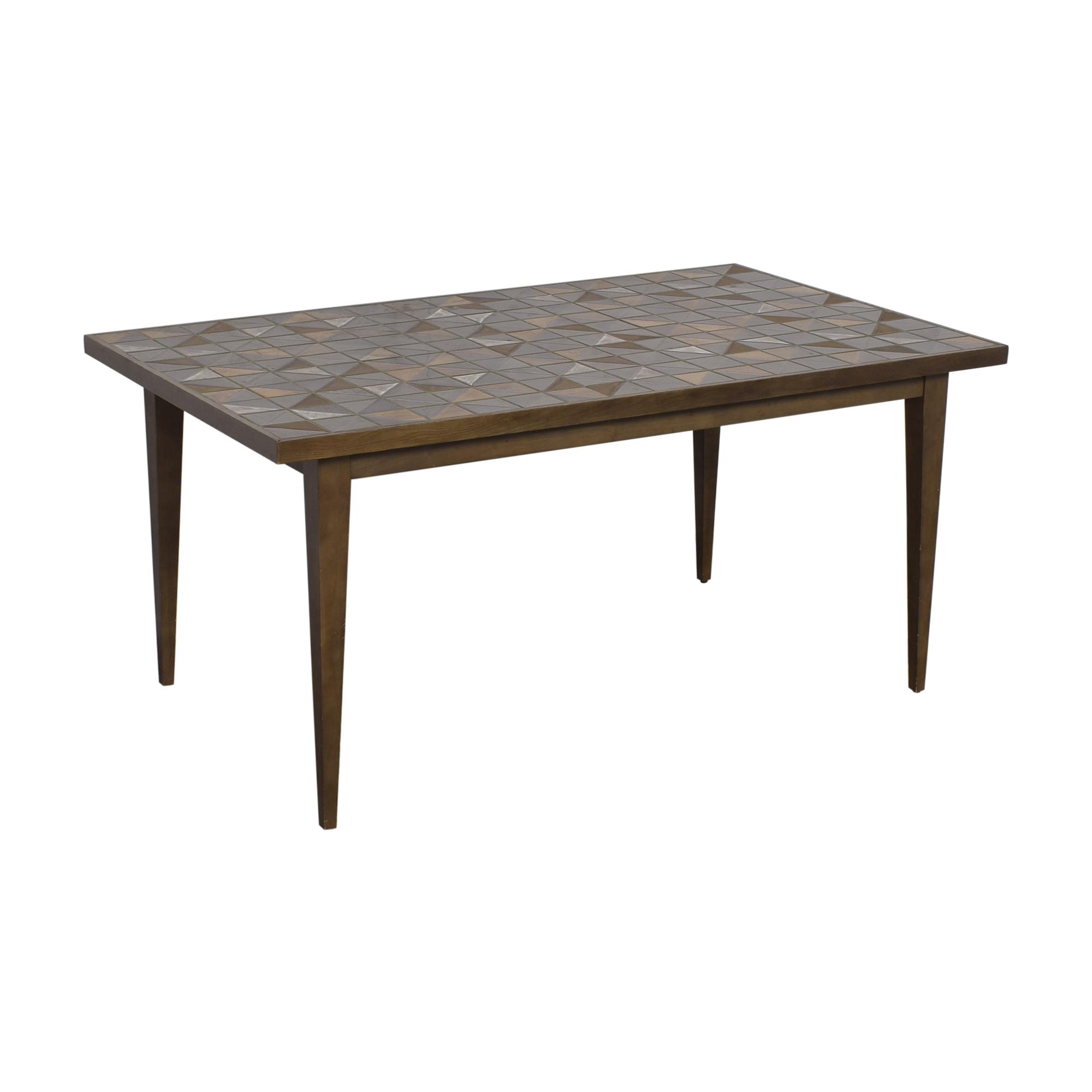 West Elm Lubna Chowdhary Tiled Dining Table / Dinner Tables