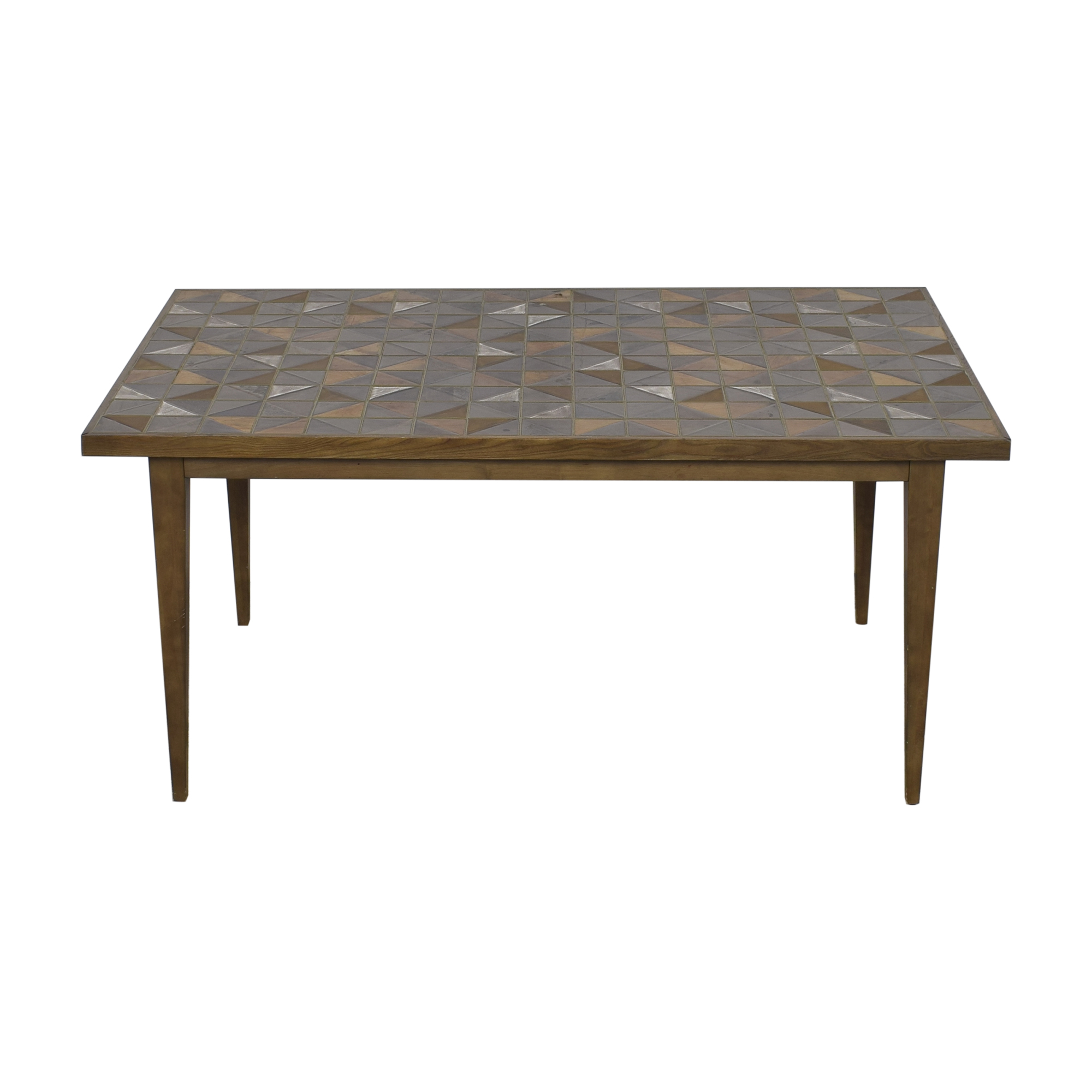shop West Elm Lubna Chowdhary Tiled Dining Table West Elm Tables